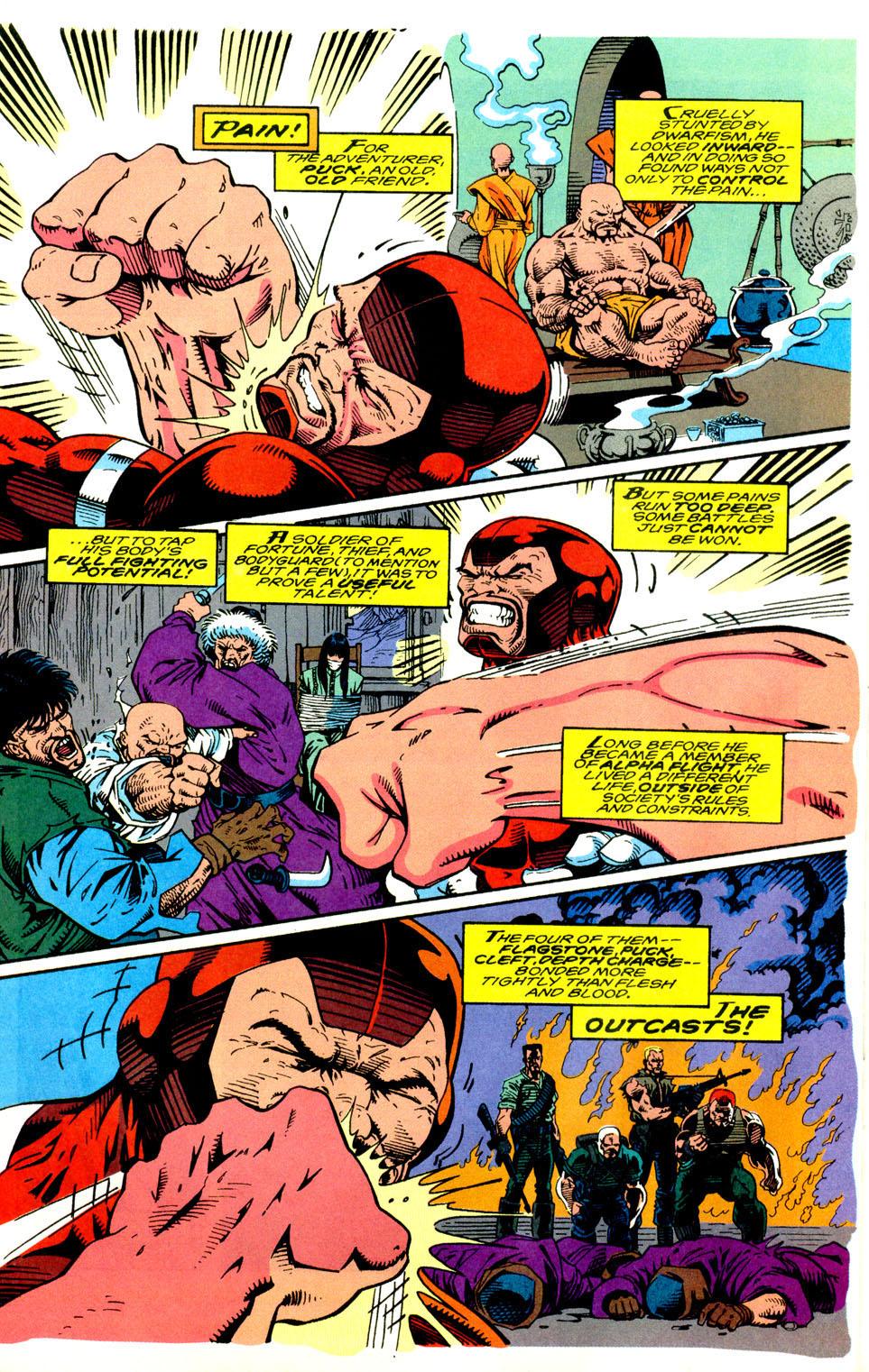 Read online Alpha Flight (1983) comic -  Issue #123 - 17