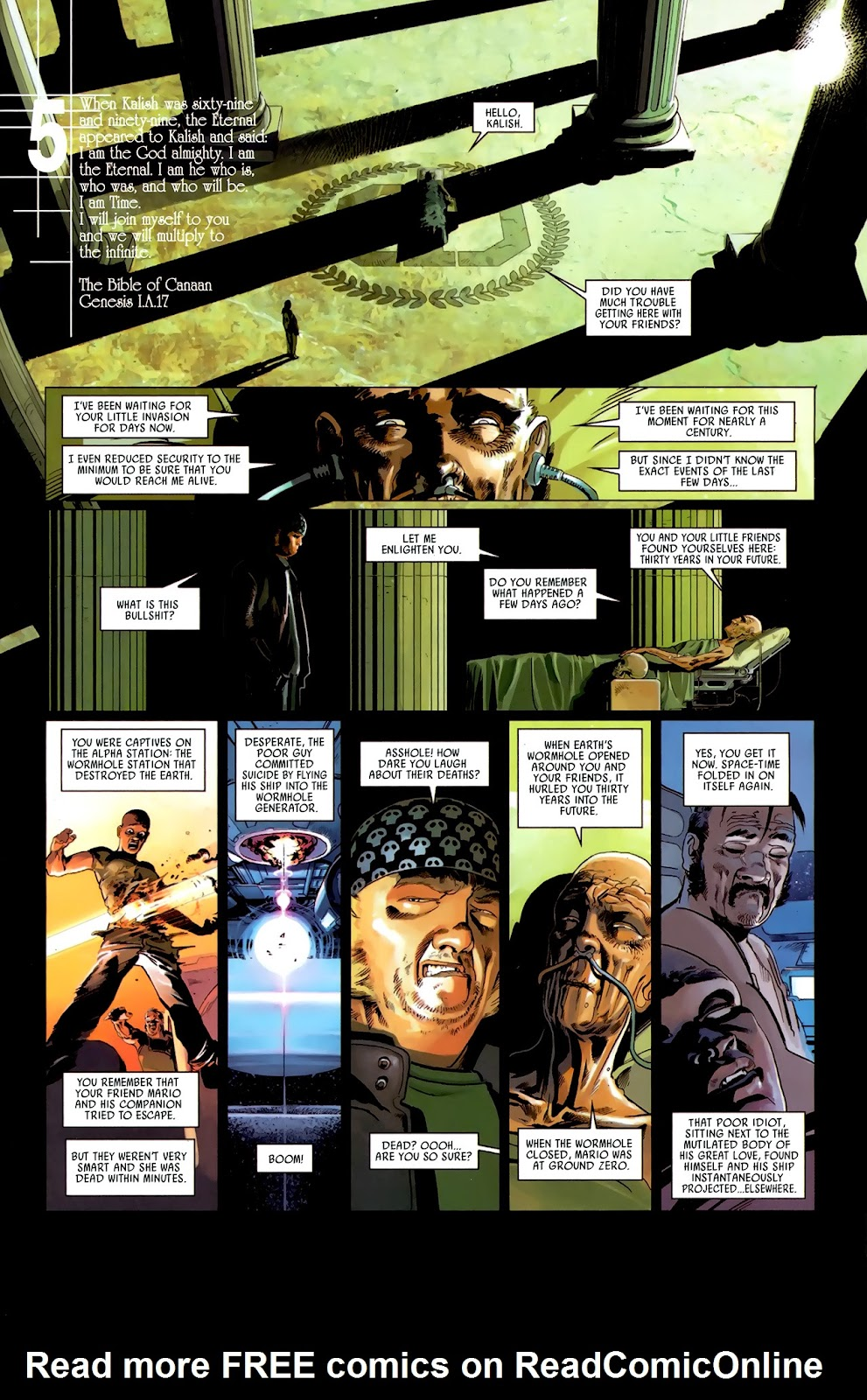 Read online Universal War One: Revelations comic -  Issue #3 - 31