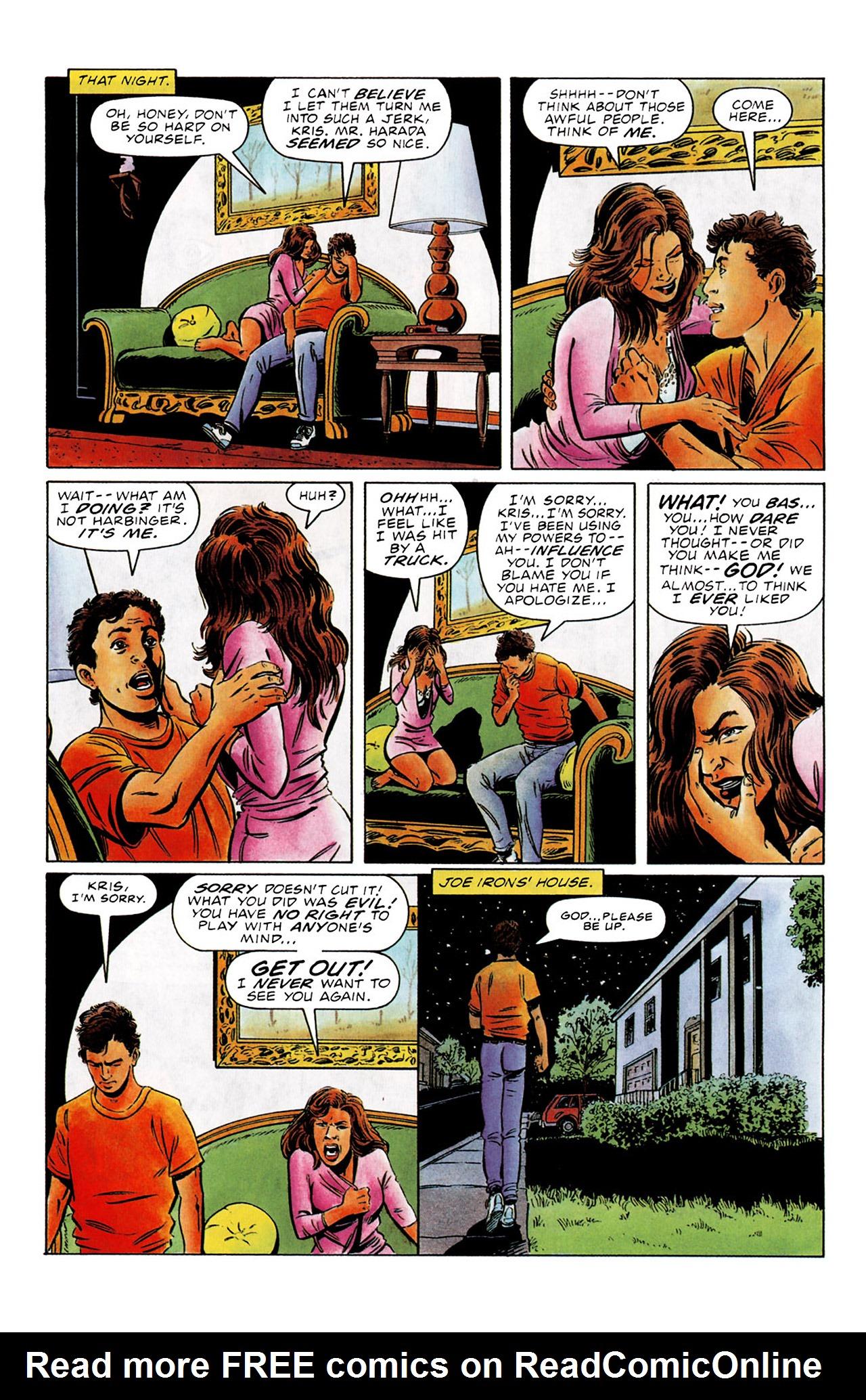 Read online Harbinger (1992) comic -  Issue #0 - 10