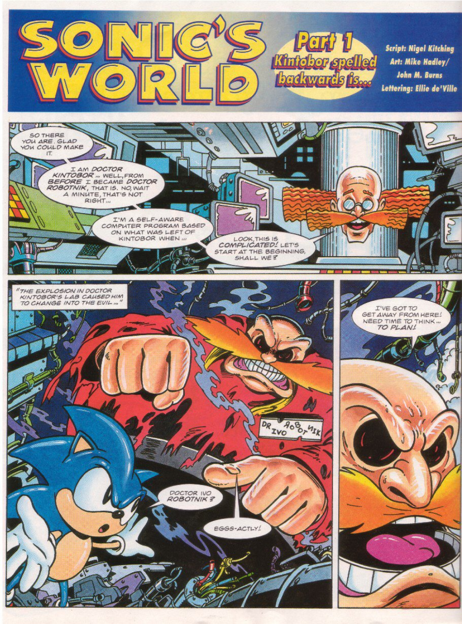 Read online Sonic the Comic comic -  Issue #26 - 19