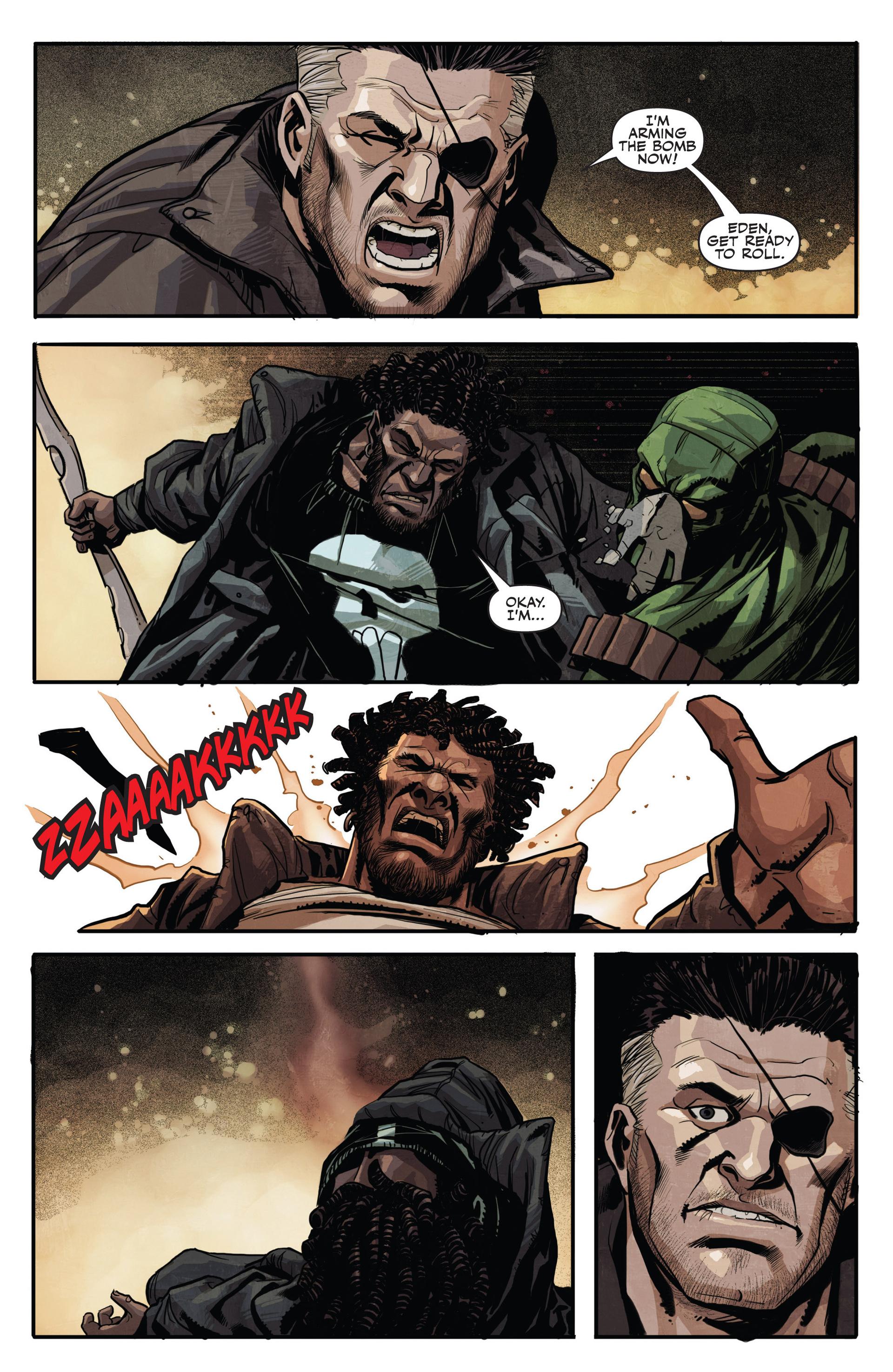 Read online Secret Warriors comic -  Issue #20 - 22