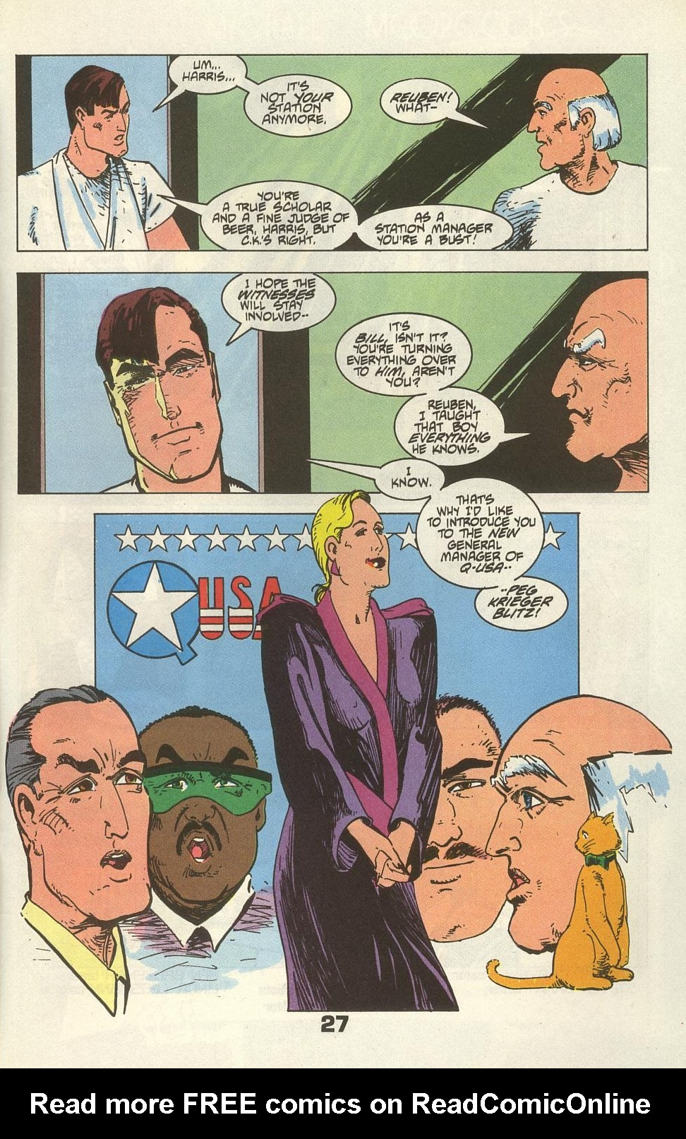Read online American Flagg! comic -  Issue #34 - 33