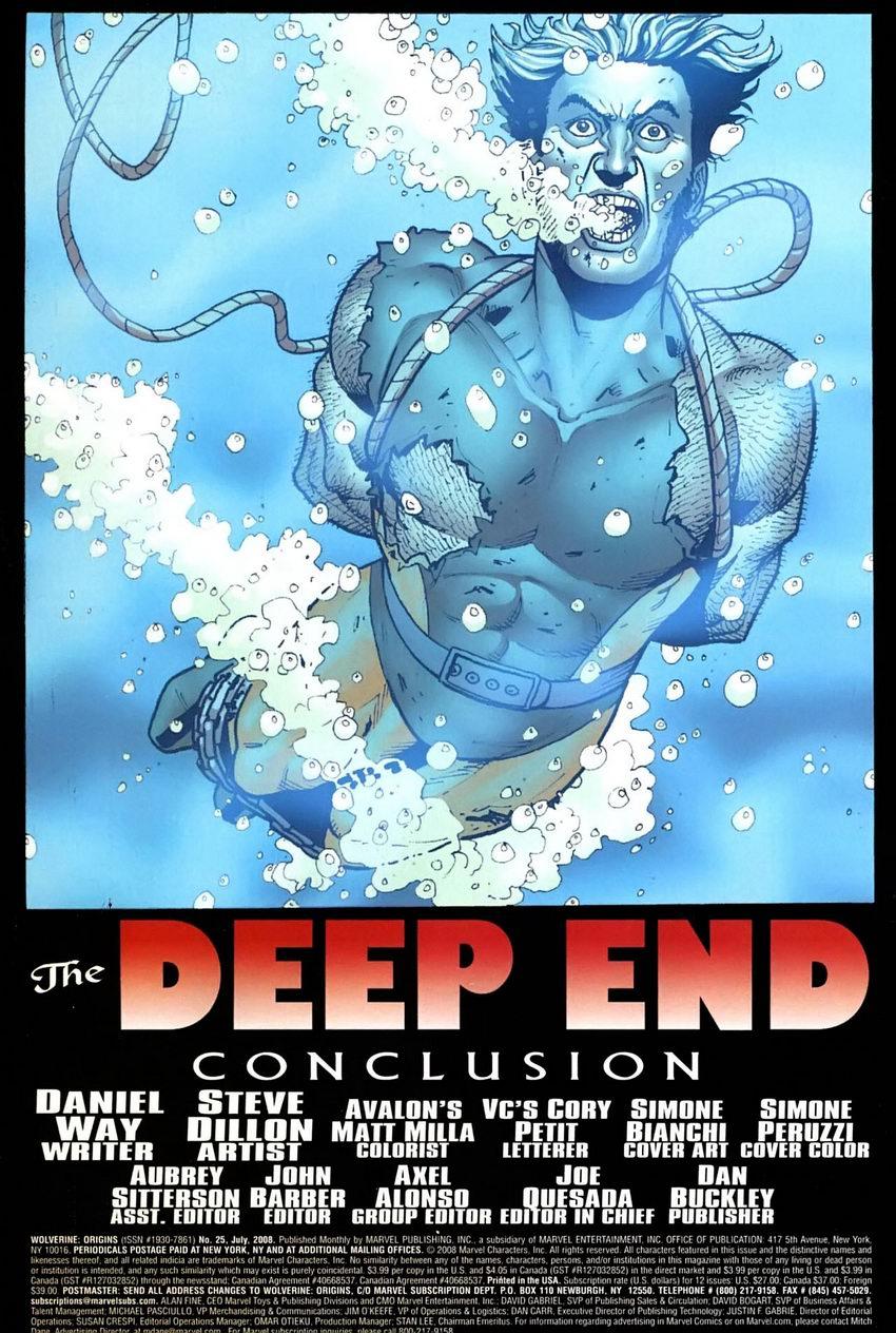 Read online Wolverine: Origins comic -  Issue #25 - 3