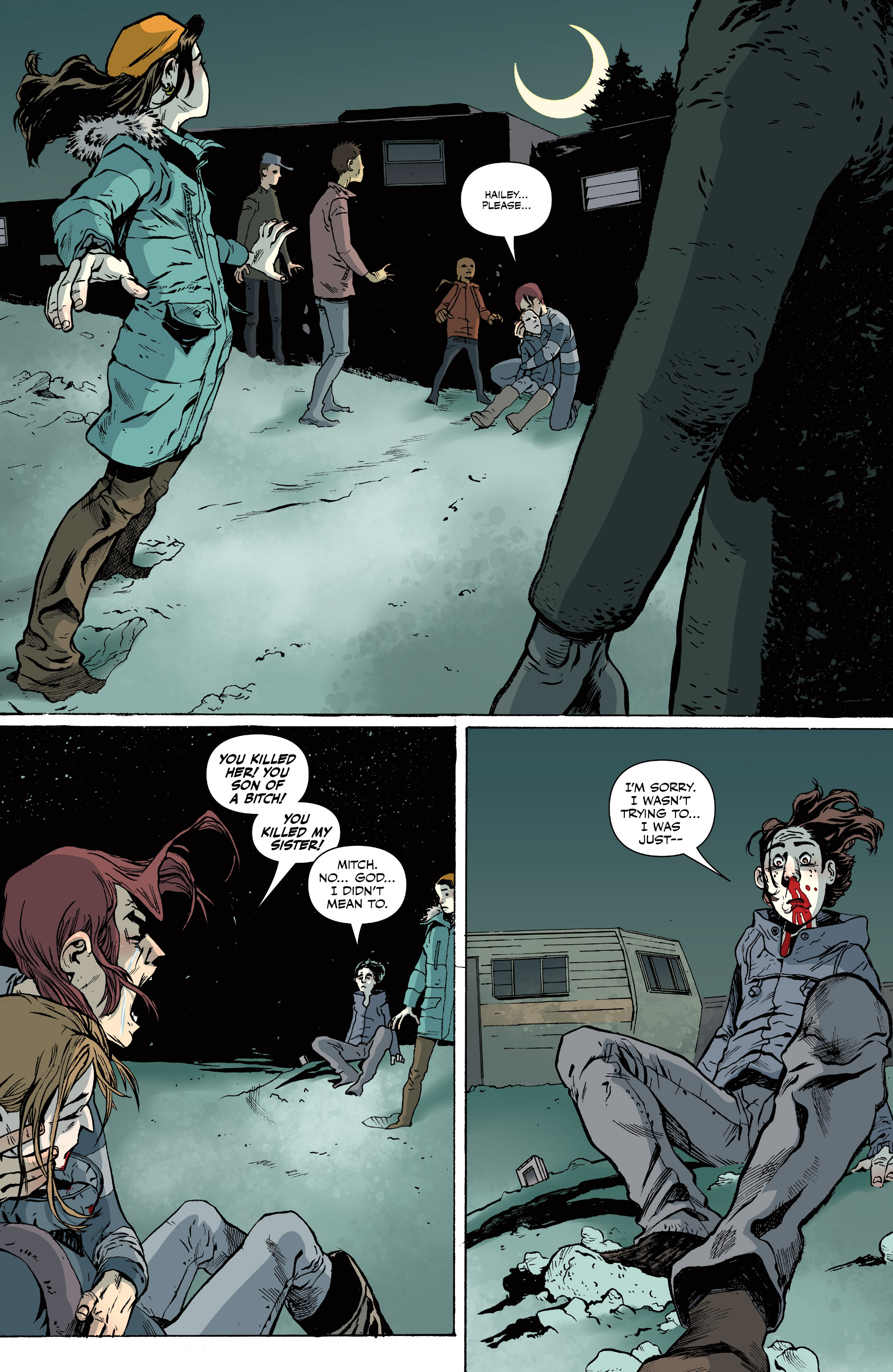 Read online Sheltered comic -  Issue #11 - 3