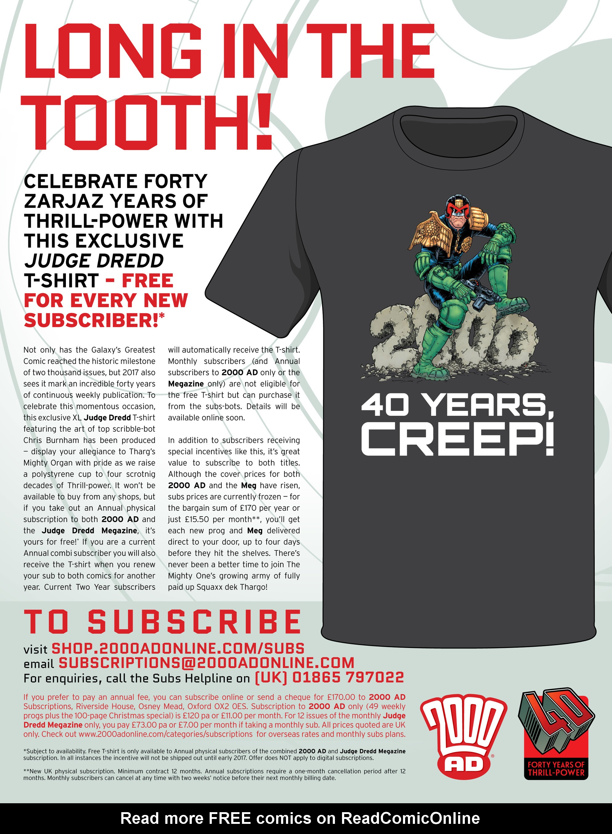 Read online 2000 AD comic -  Issue #2012 - 25
