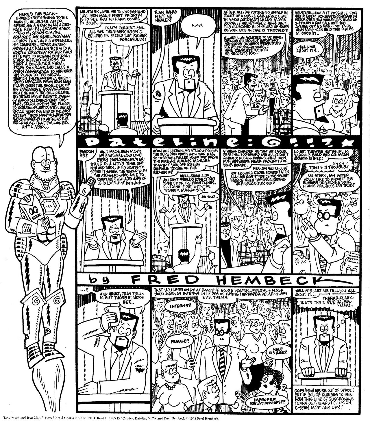 Read online The Nearly Complete Essential Hembeck Archives Omnibus comic -  Issue # TPB (Part 7) - 59