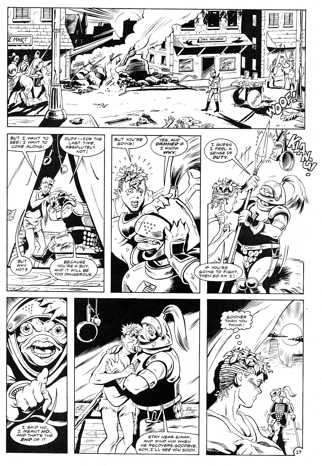 Ex-Mutants: The Shattered Earth Chronicles issue 9 - Page 19