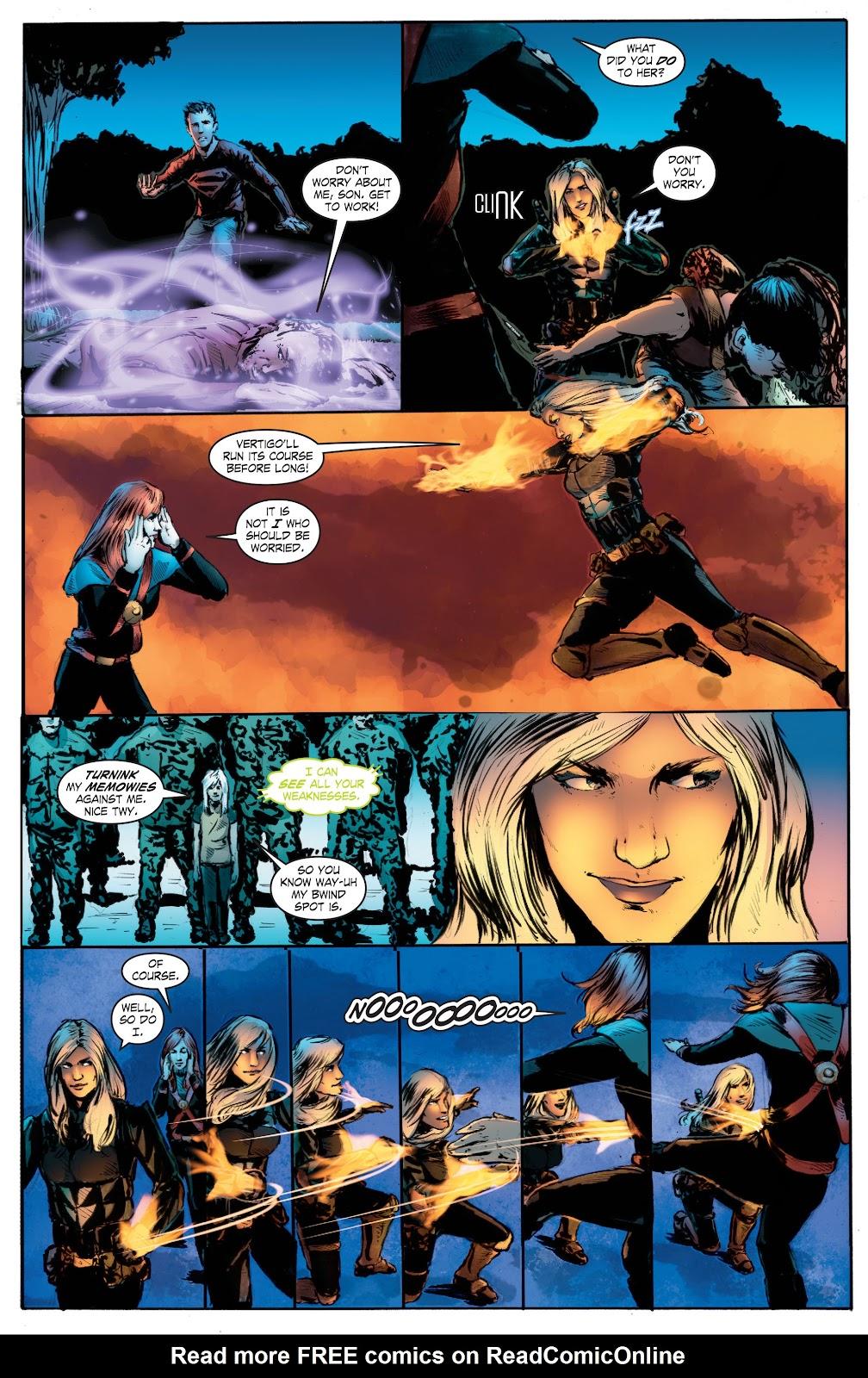 Read online Smallville Season 11 [II] comic -  Issue # TPB 7 - 161