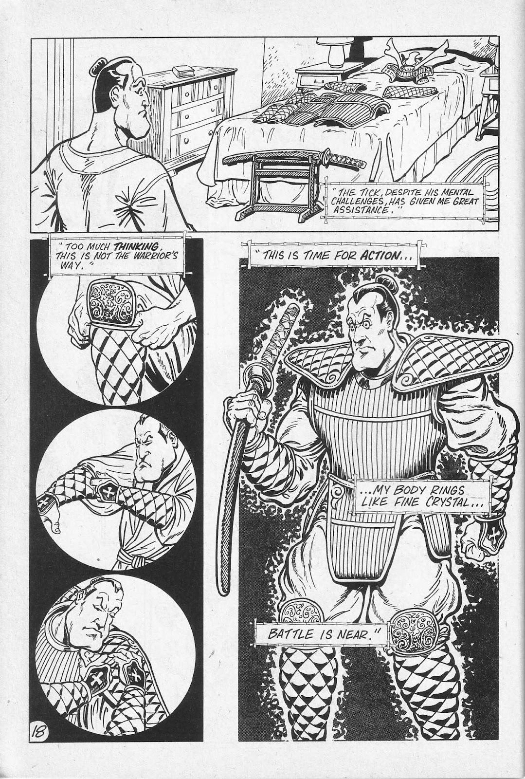 Read online Paul the Samurai (1991) comic -  Issue # TPB - 24
