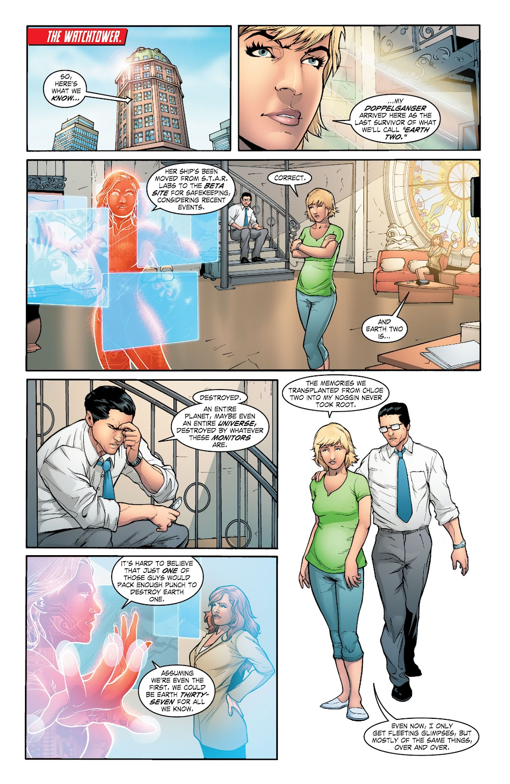 Read online Smallville Season 11 [II] comic -  Issue # TPB 6 - 65