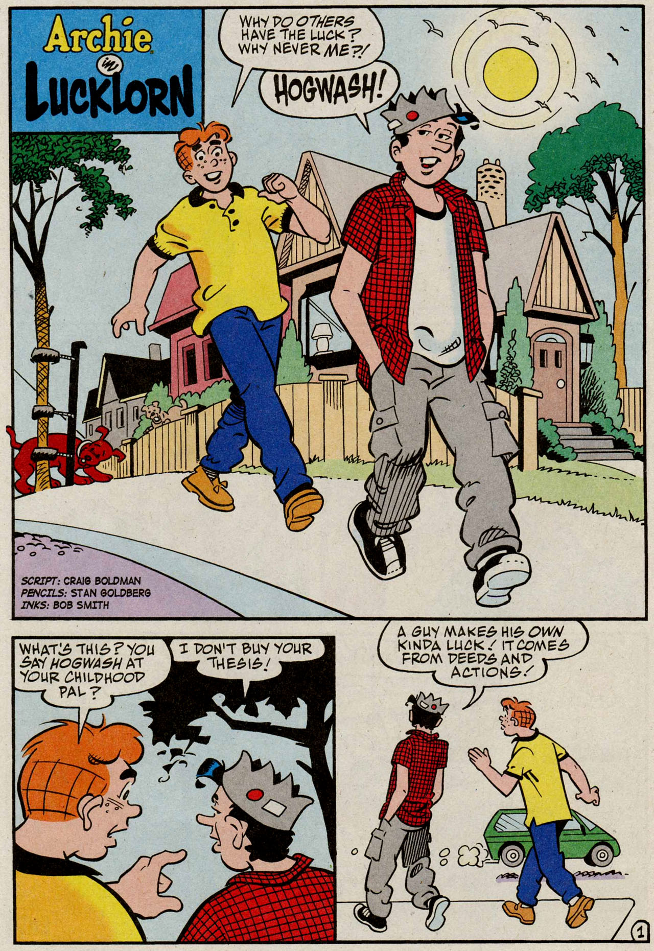 Read online Archie (1960) comic -  Issue #585 - 19