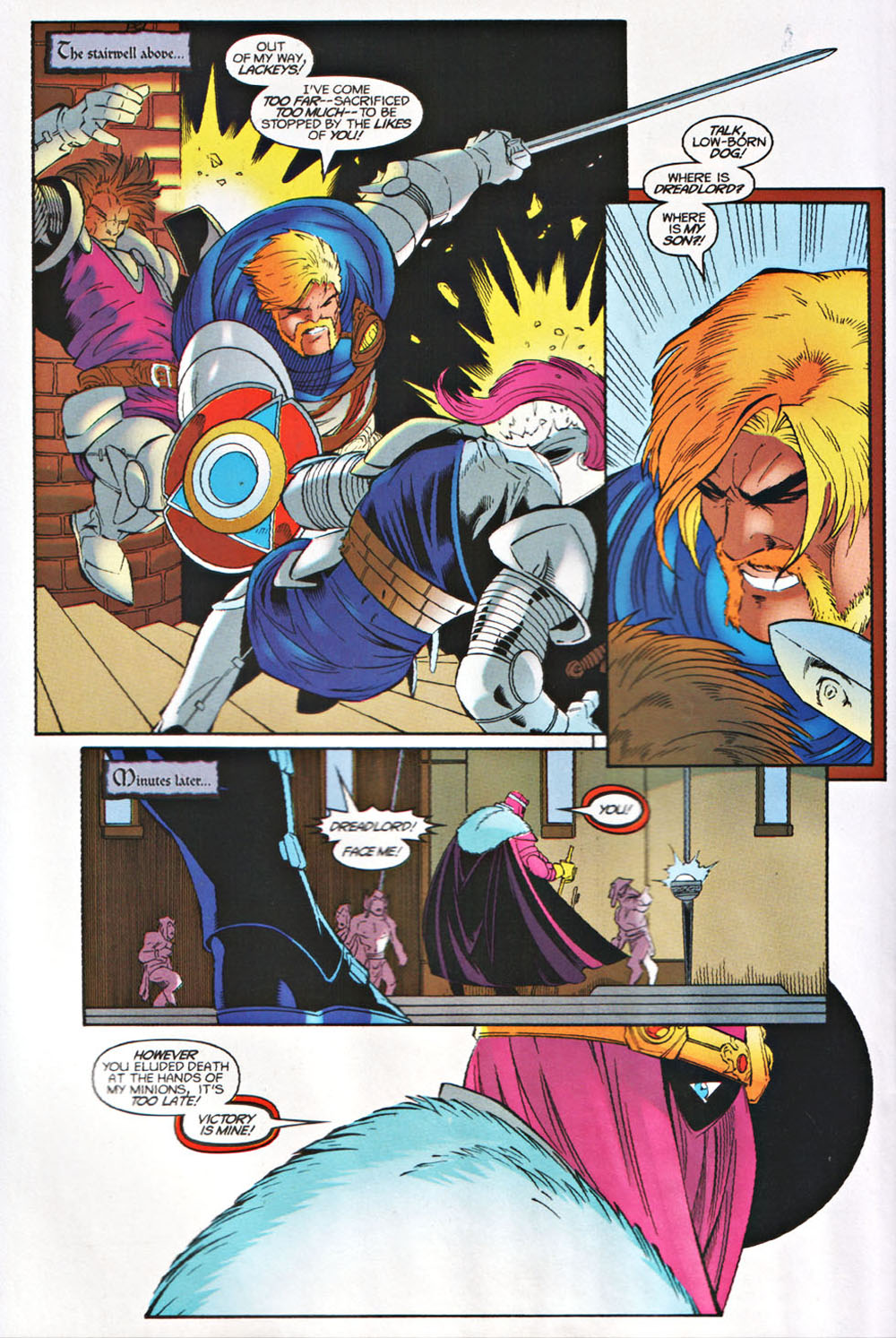 Read online Avataars: Covenant of the Shield comic -  Issue #3 - 14