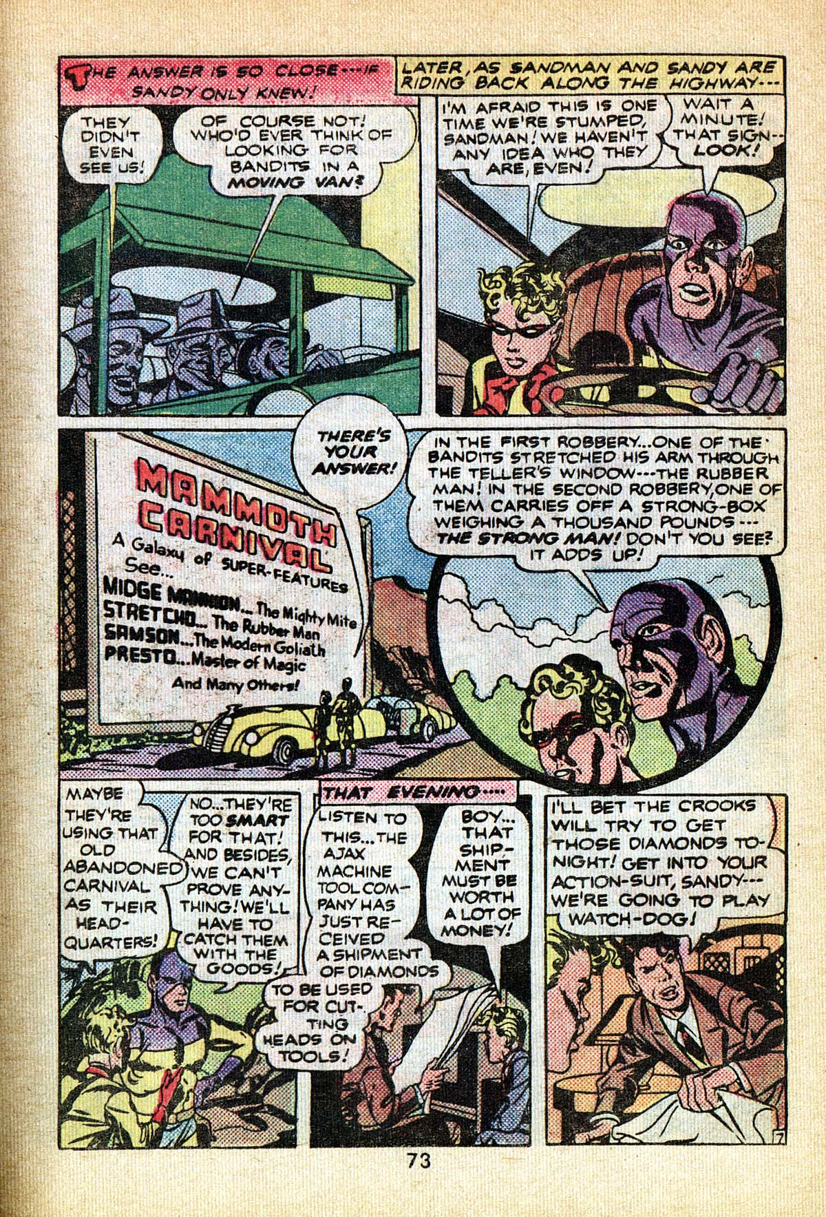 Read online Adventure Comics (1938) comic -  Issue #495 - 73