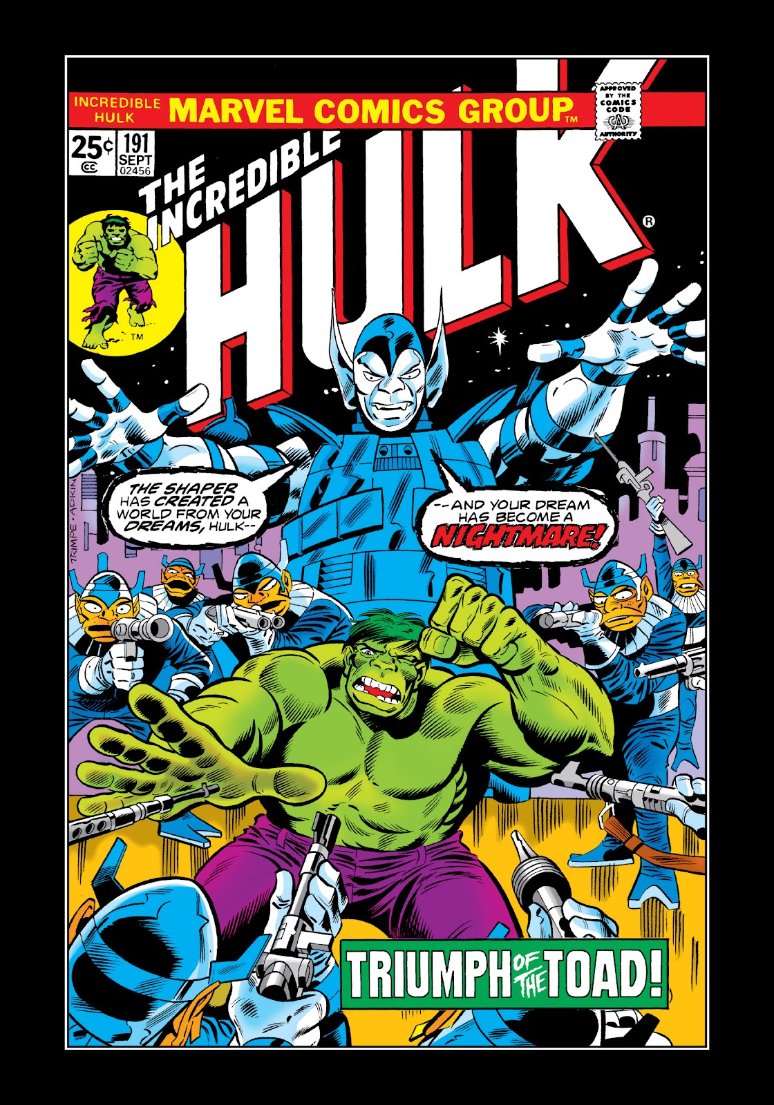 Read online Marvel Masterworks: The Incredible Hulk comic -  Issue # TPB 11 (Part 2) - 39