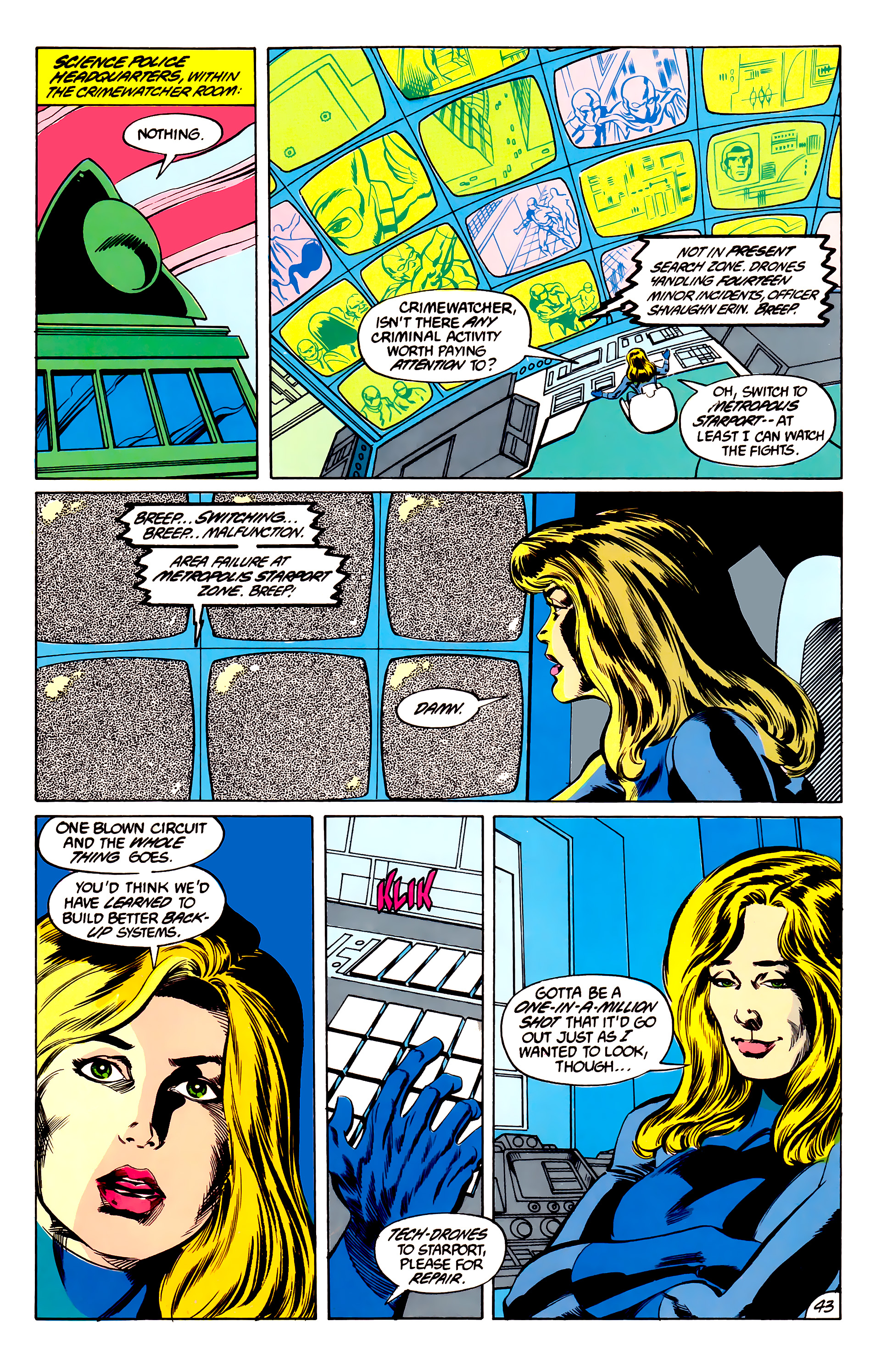Legion of Super-Heroes (1984) 45 Page 42