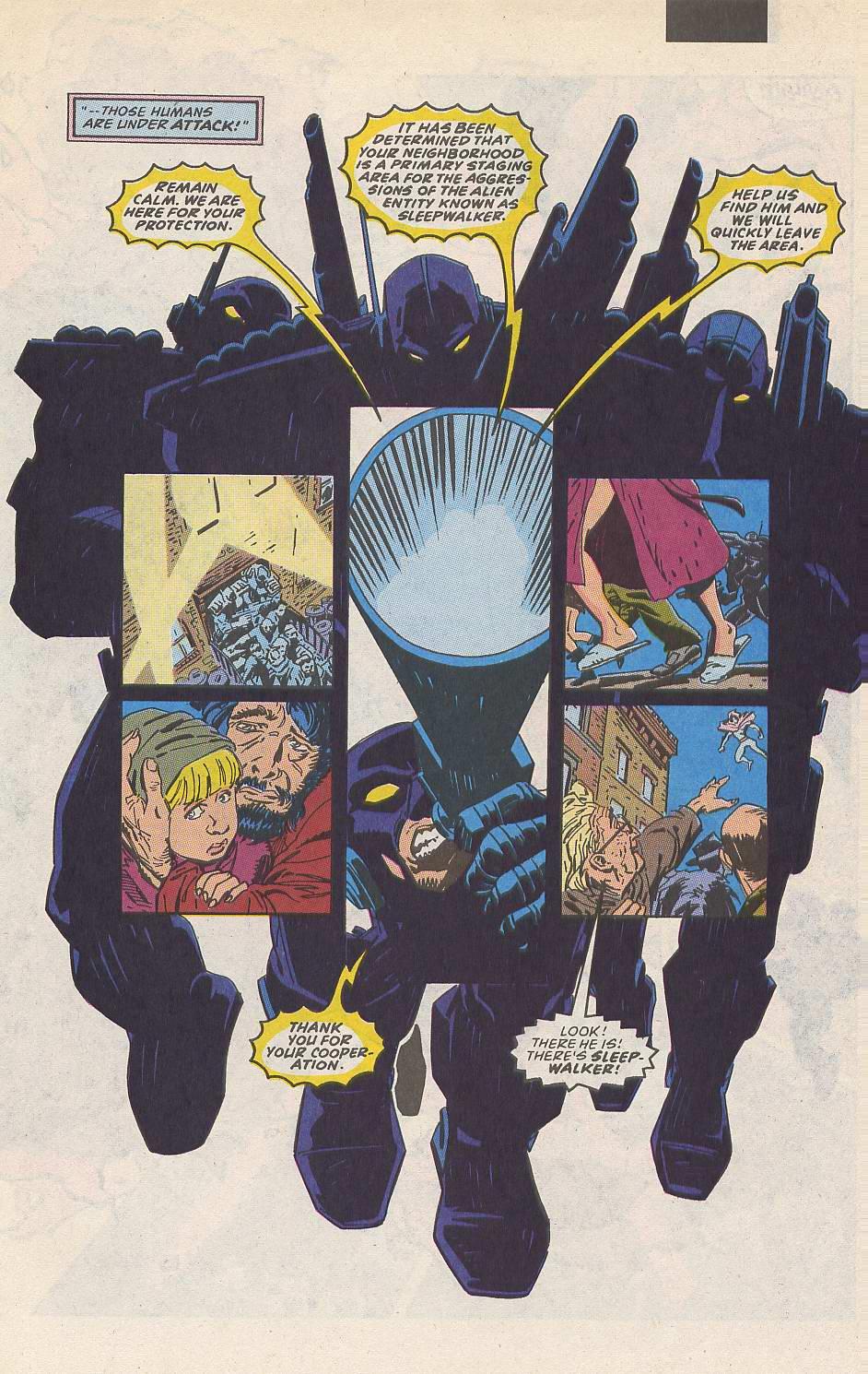 Read online Sleepwalker comic -  Issue #10 - 8