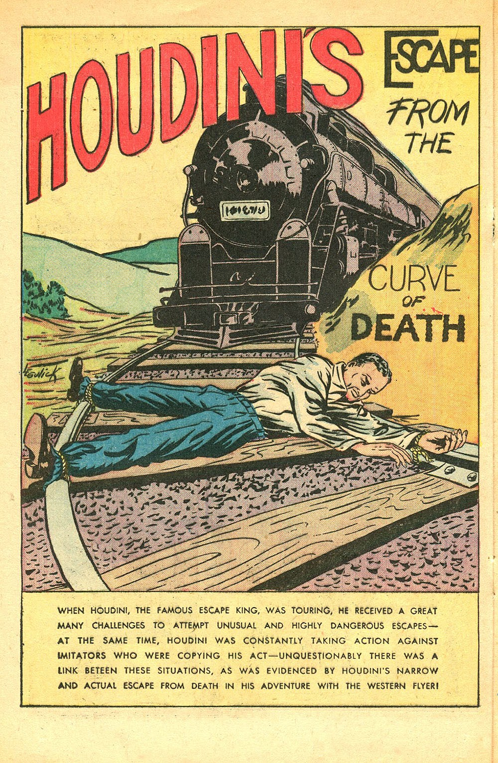 Read online Super-Magician Comics comic -  Issue #56 - 28