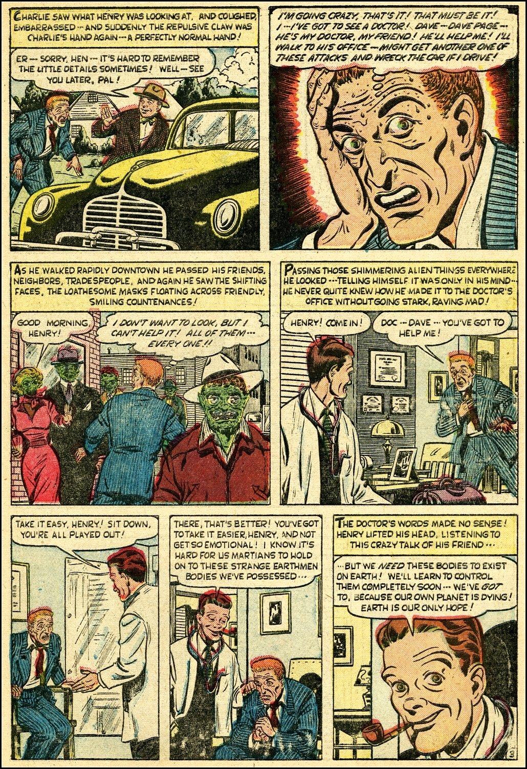 Read online Adventures into Weird Worlds comic -  Issue #25 - 4