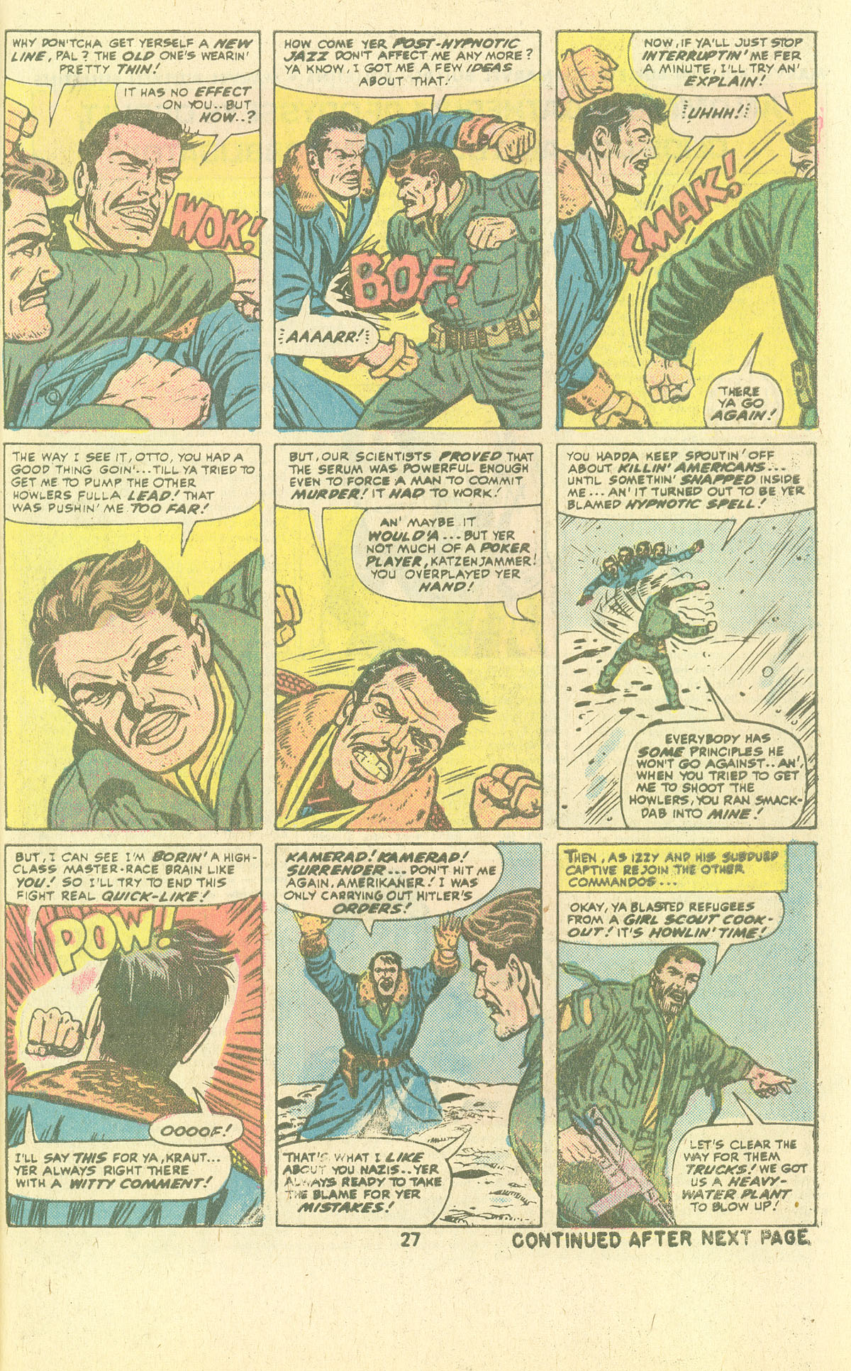 Read online Sgt. Fury comic -  Issue #134 - 29