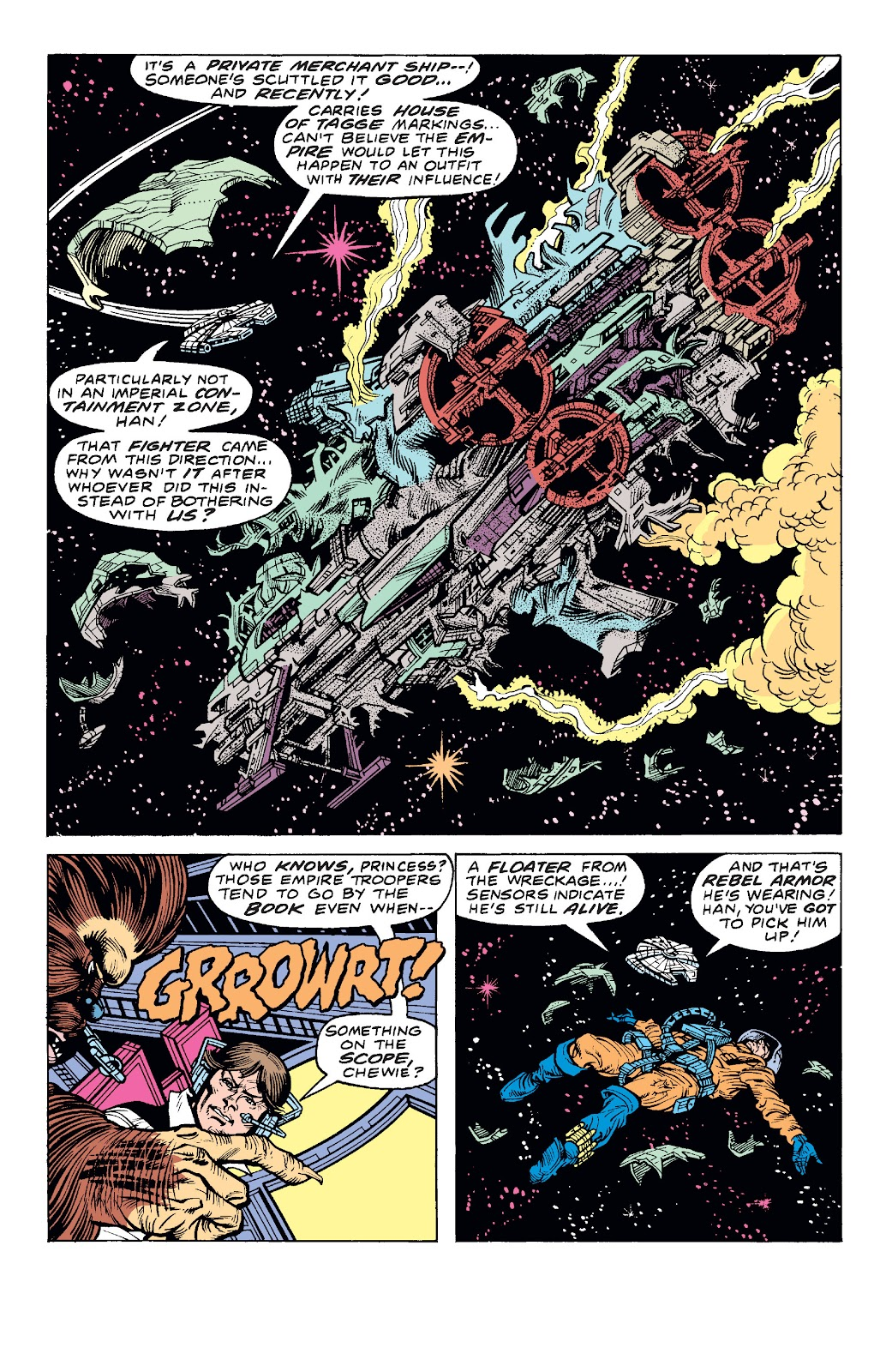Read online Star Wars Legends: The Original Marvel Years - Epic Collection comic -  Issue # TPB 1 (Part 4) - 22