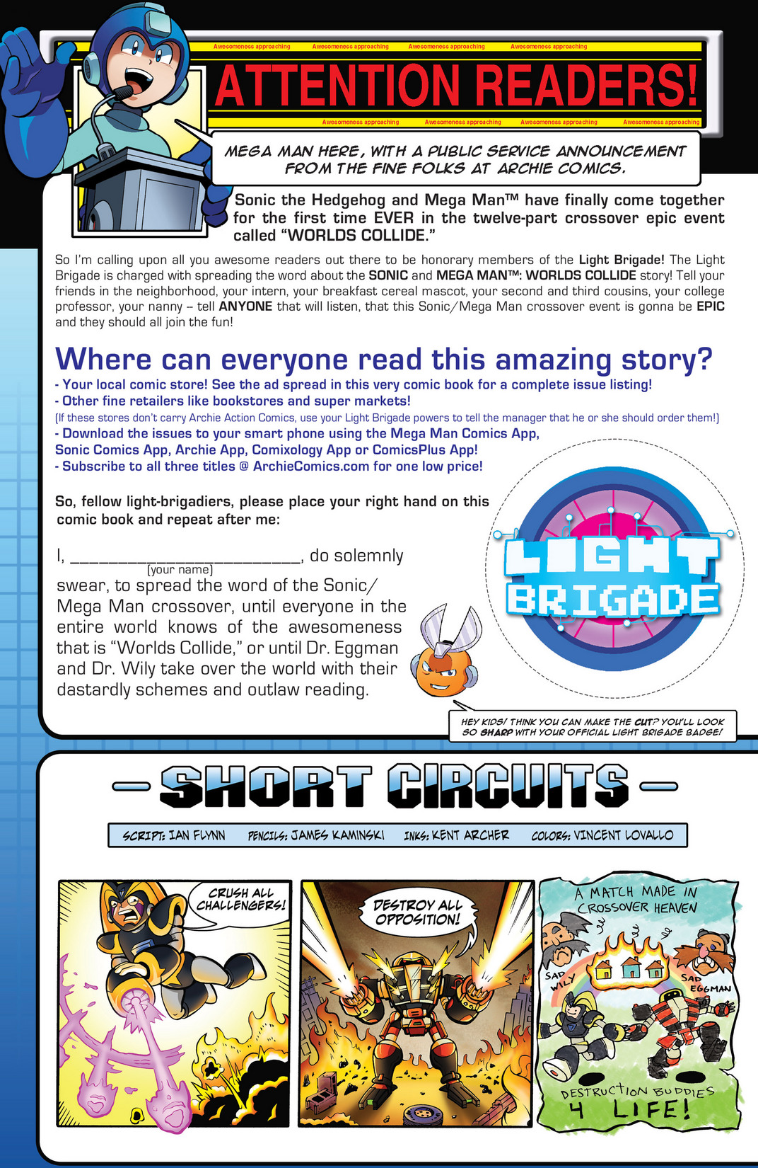 Read online Sonic Mega Man Worlds Collide comic -  Issue # Vol 2 - 80
