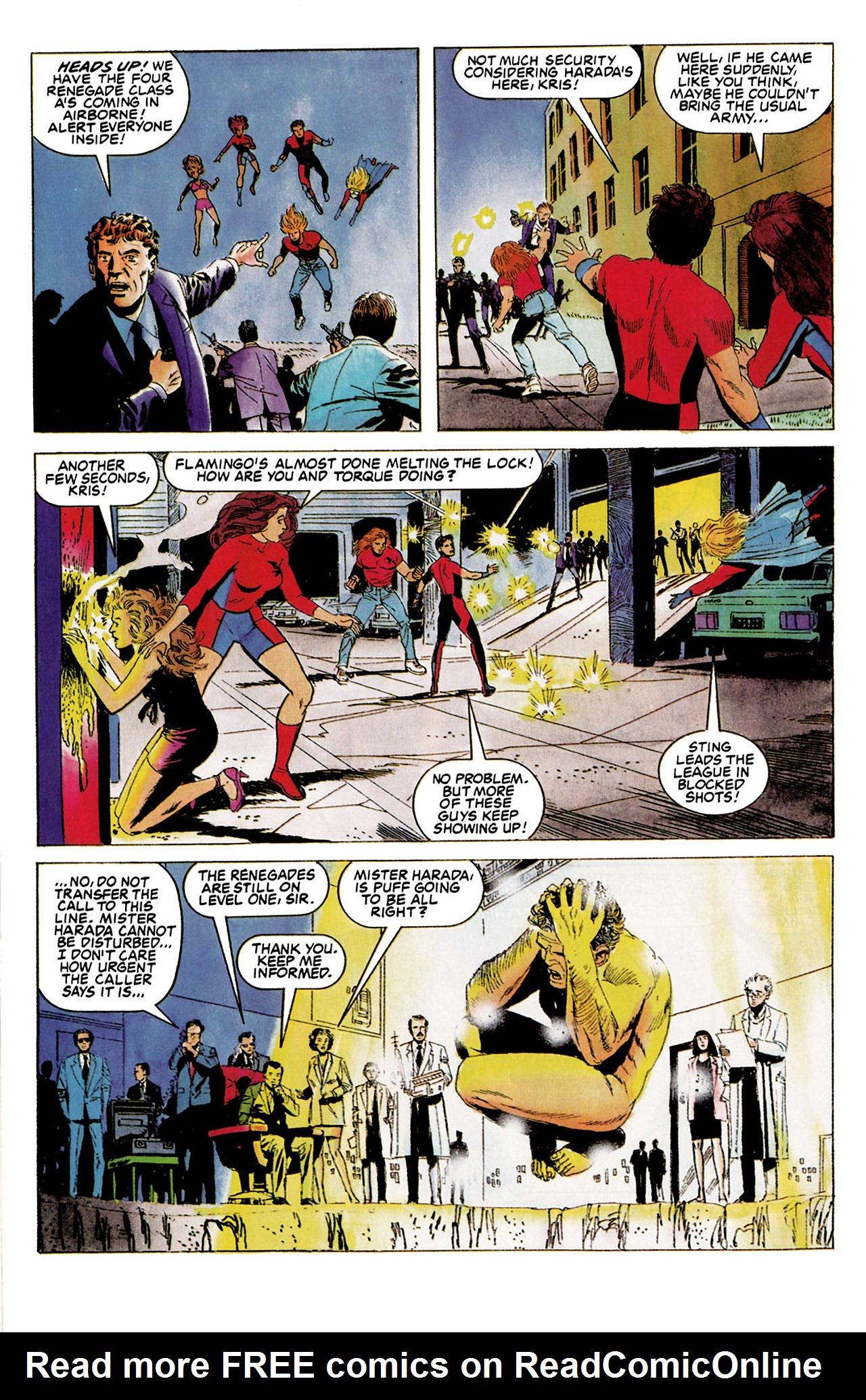 Read online Harbinger (1992) comic -  Issue #5 - 12