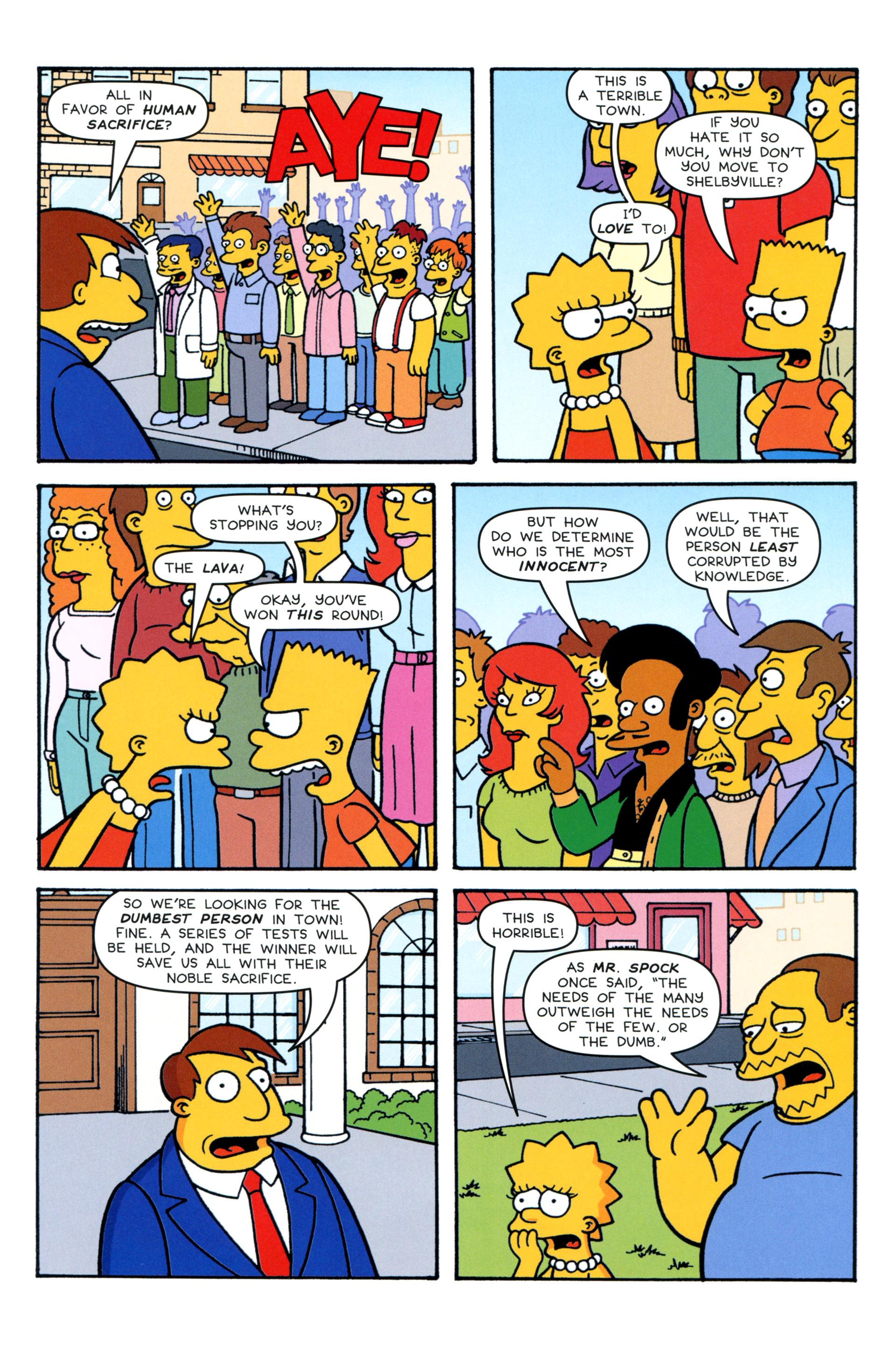 Read online Simpsons Comics comic -  Issue #206 - 13