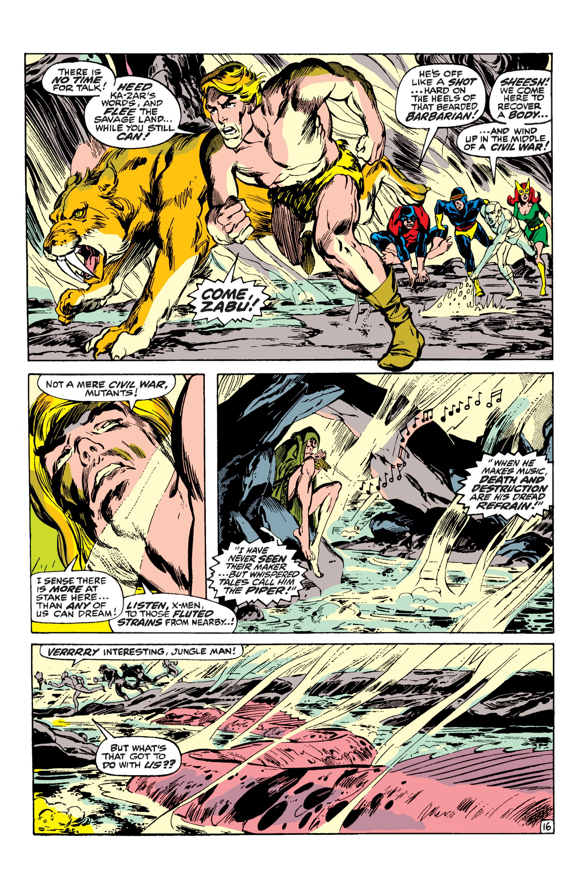 Uncanny X-Men (1963) 62 Page 16