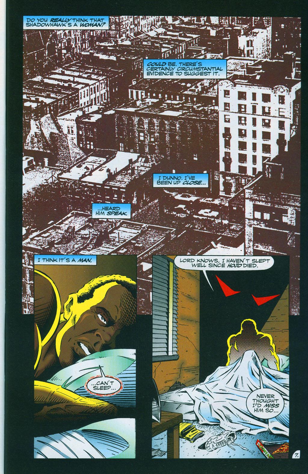 Read online ShadowHawk comic -  Issue #7 - 11