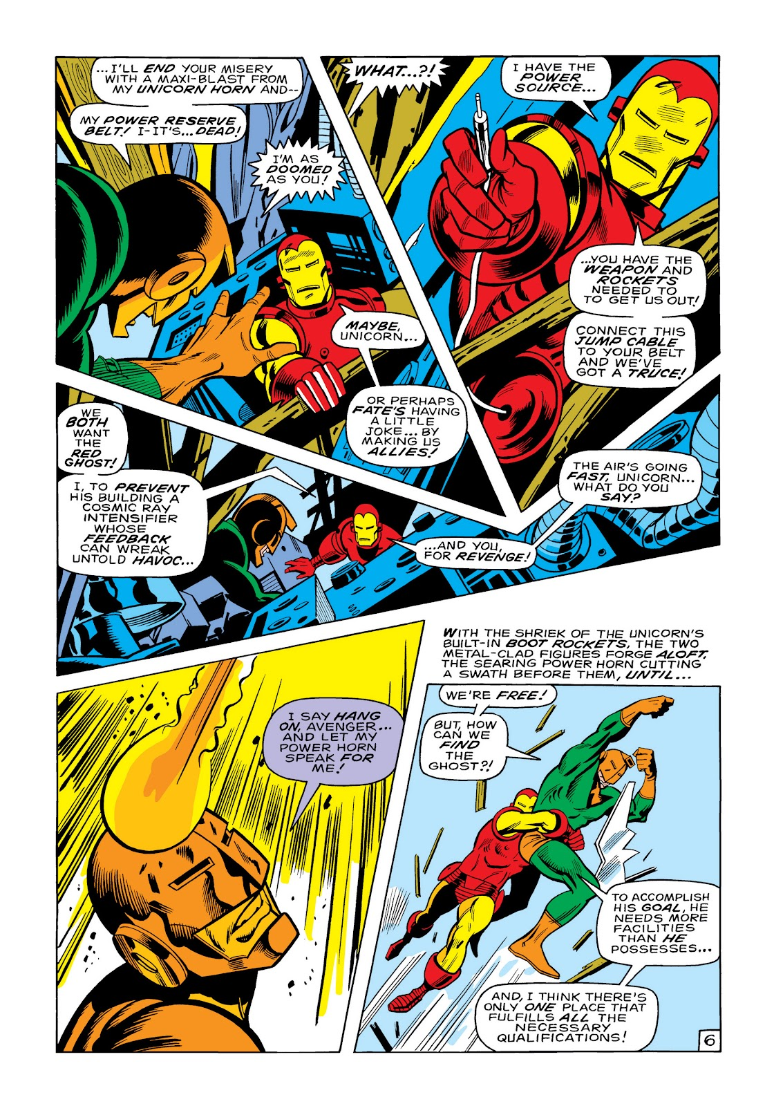 Read online Marvel Masterworks: The Invincible Iron Man comic -  Issue # TPB 6 (Part 1) - 54
