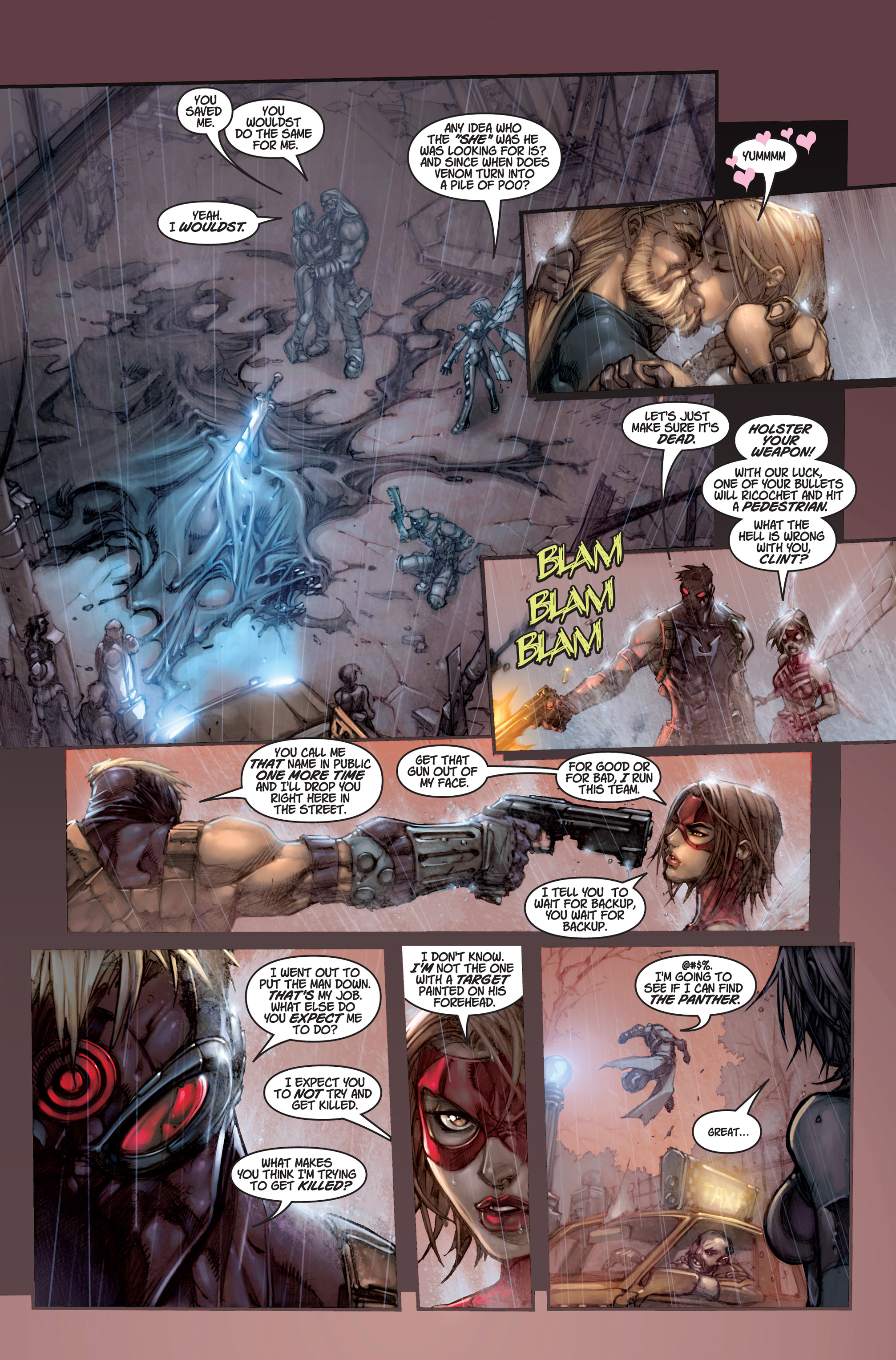 Read online Ultimates 3 comic -  Issue #1 - 12