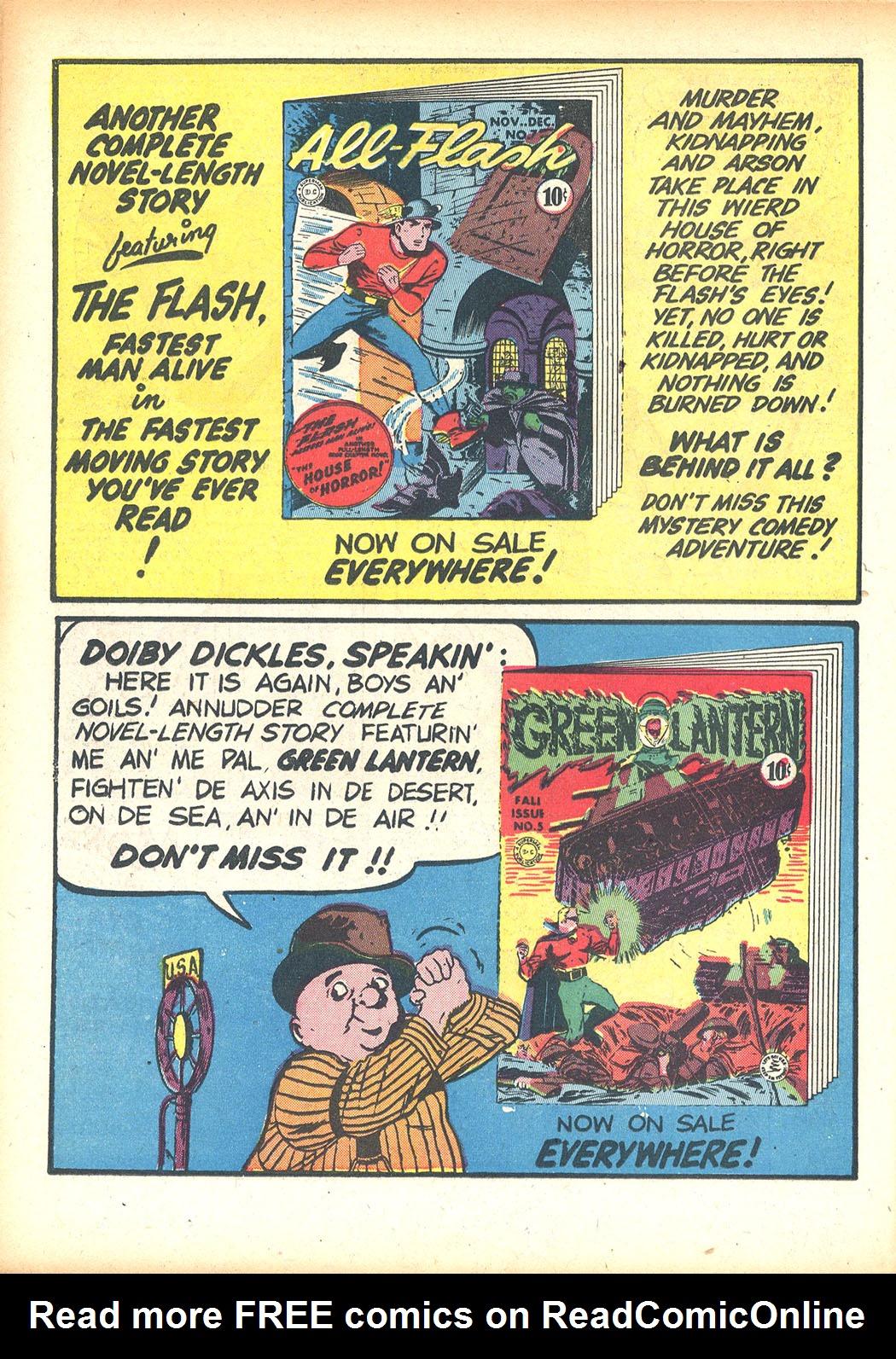 Read online Sensation (Mystery) Comics comic -  Issue #13 - 42