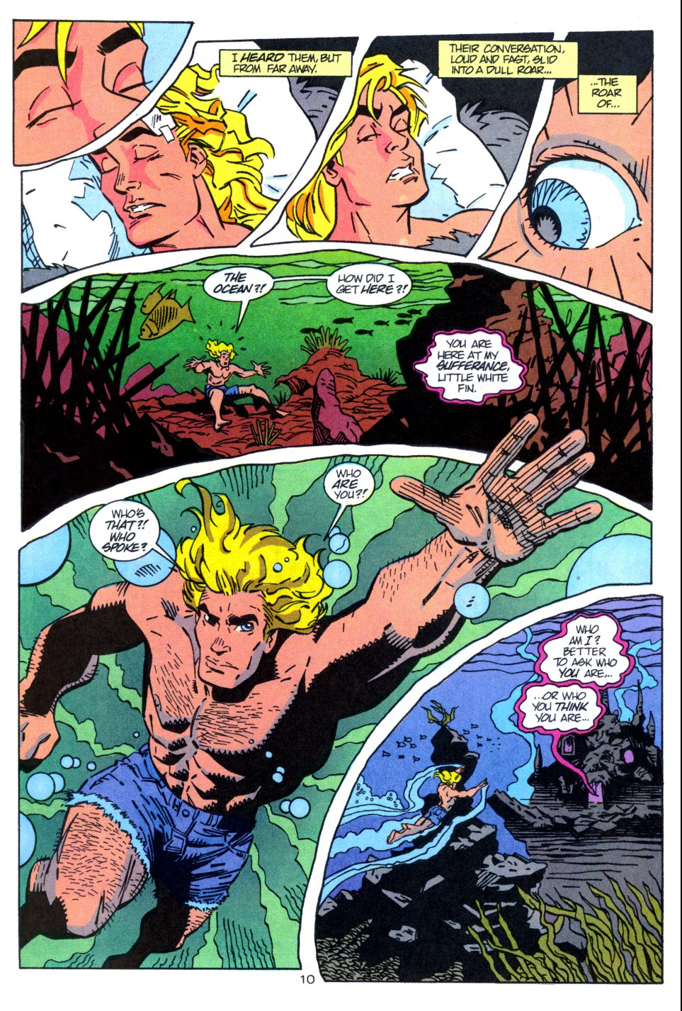 Read online Aquaman: Time and Tide comic -  Issue #3 - 11