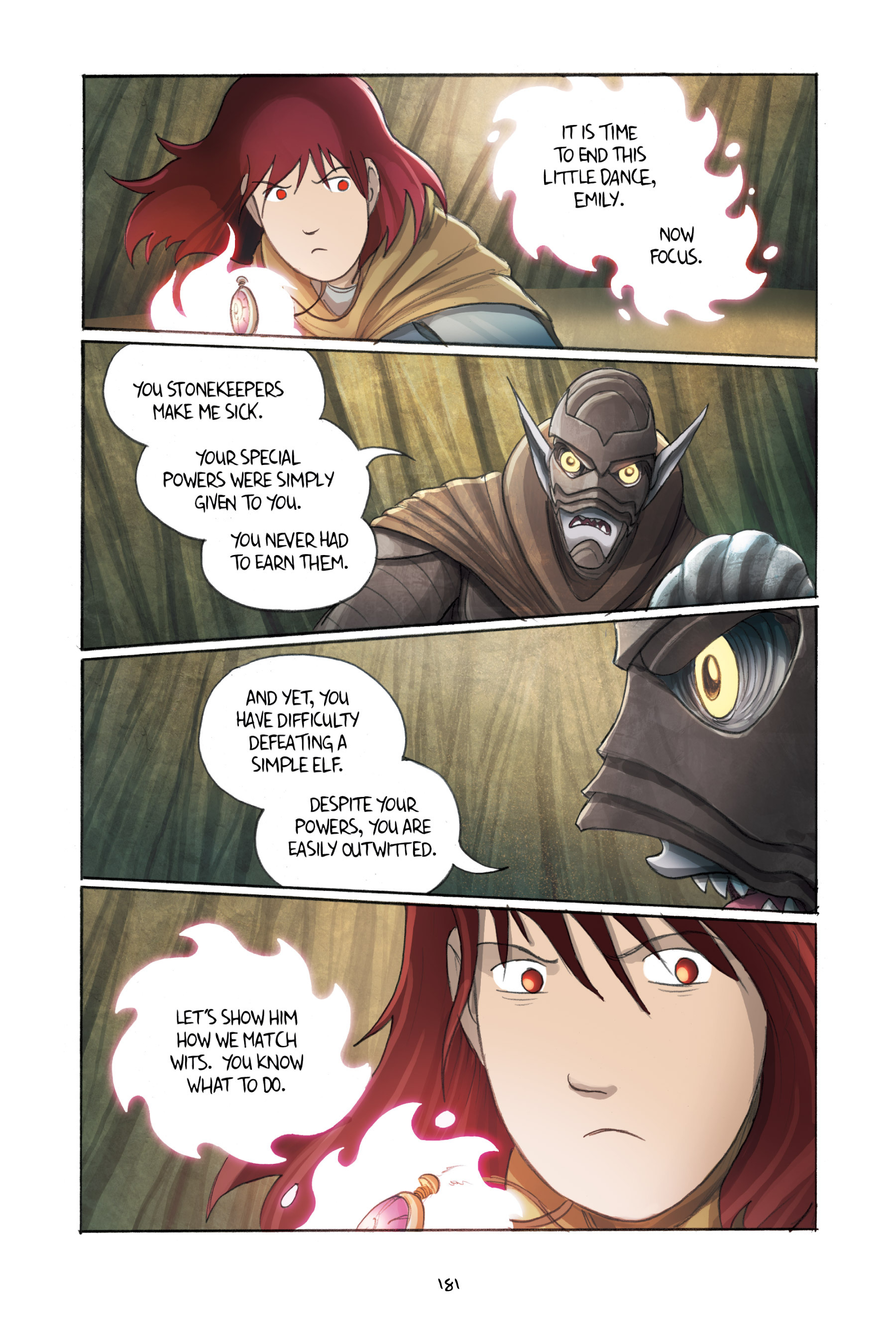 Read online Amulet comic -  Issue #3 - 177