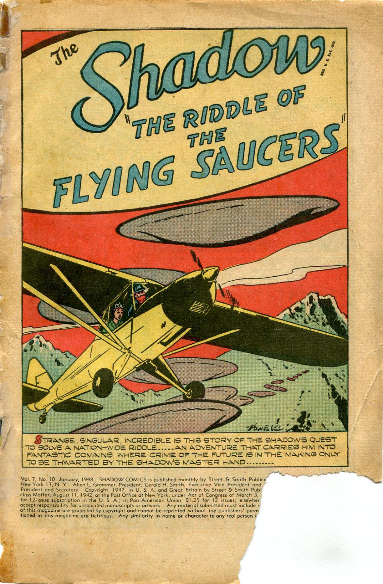 Read online Shadow Comics comic -  Issue #82 - 3