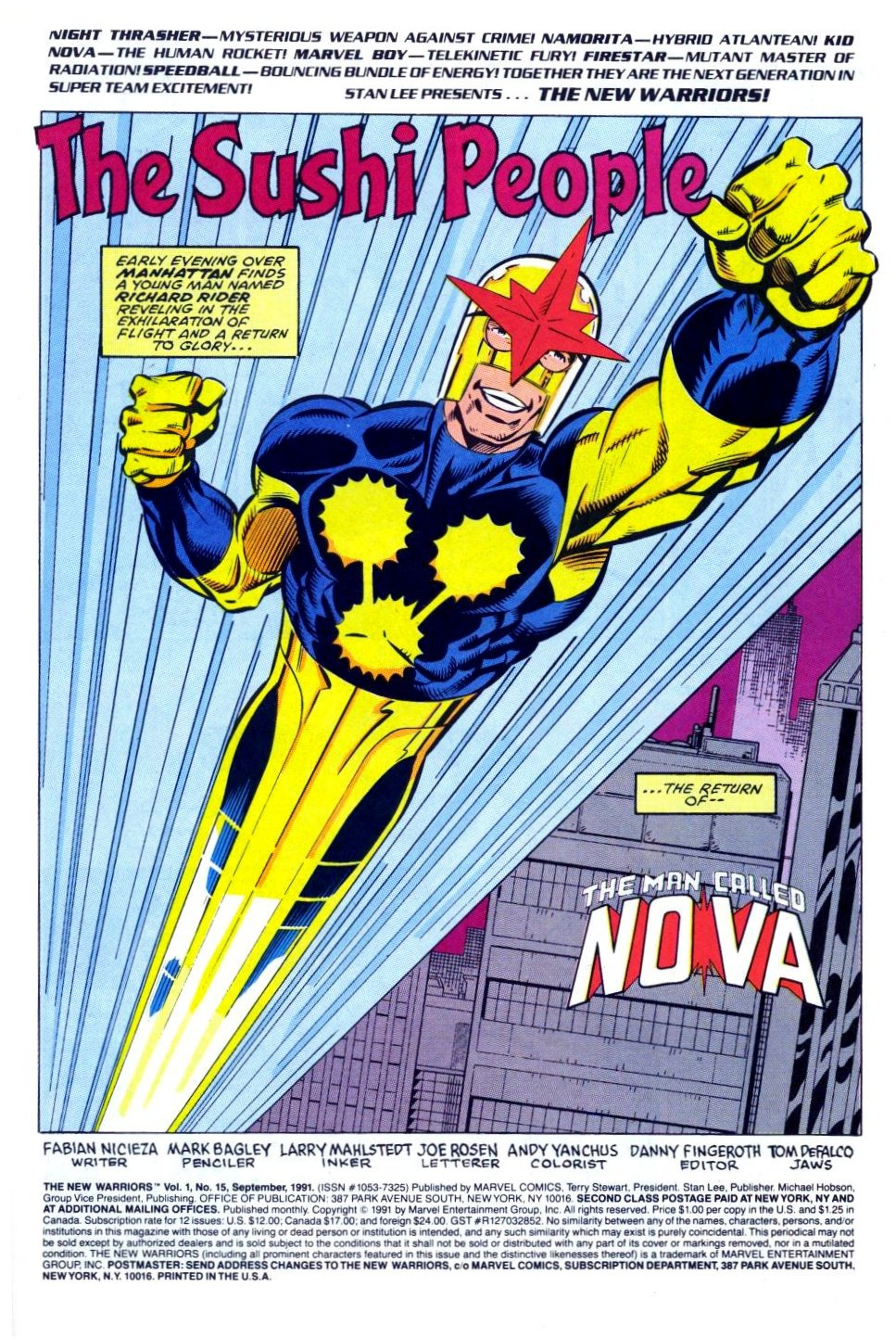 The New Warriors Issue #15 #19 - English 2