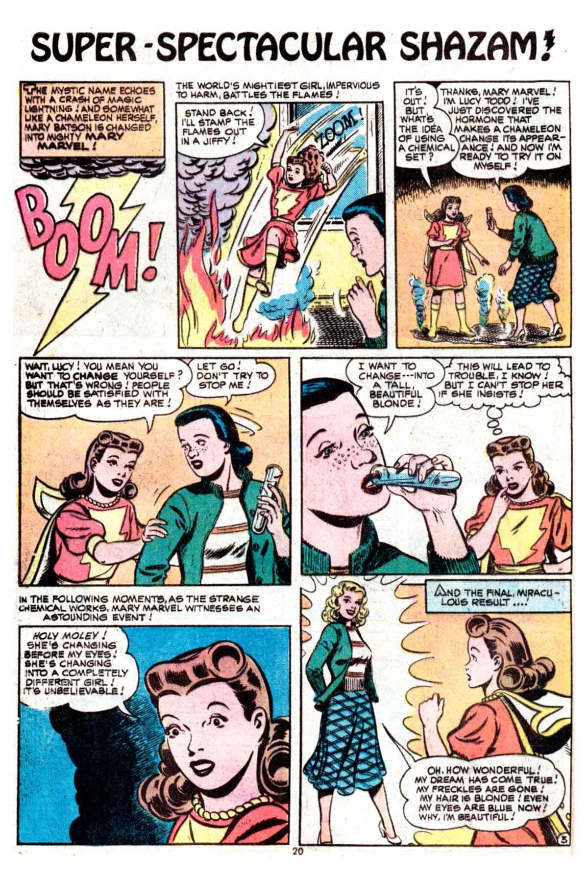 Read online Shazam! (1973) comic -  Issue #15 - 20