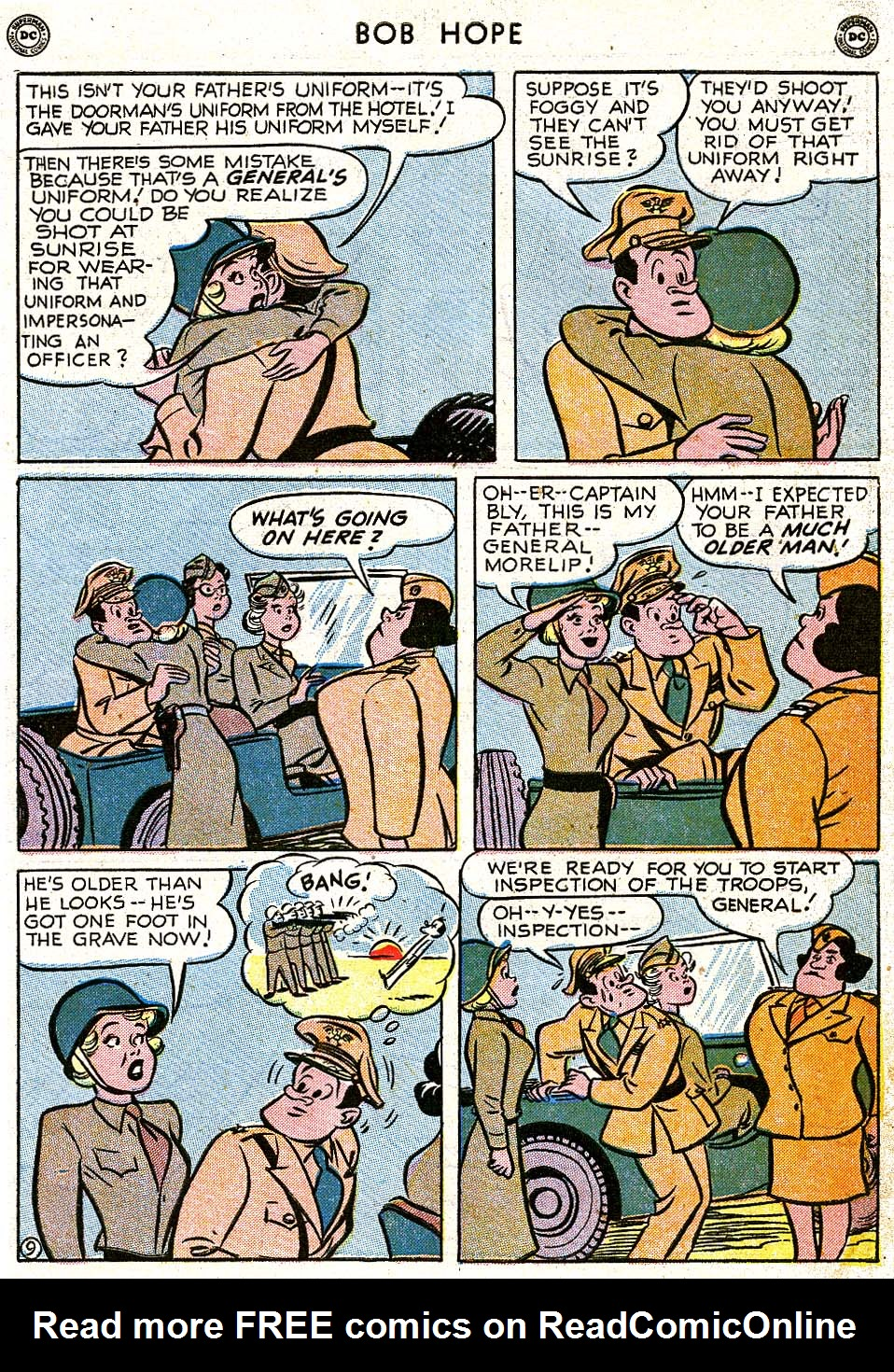 The Adventures of Bob Hope issue 8 - Page 11