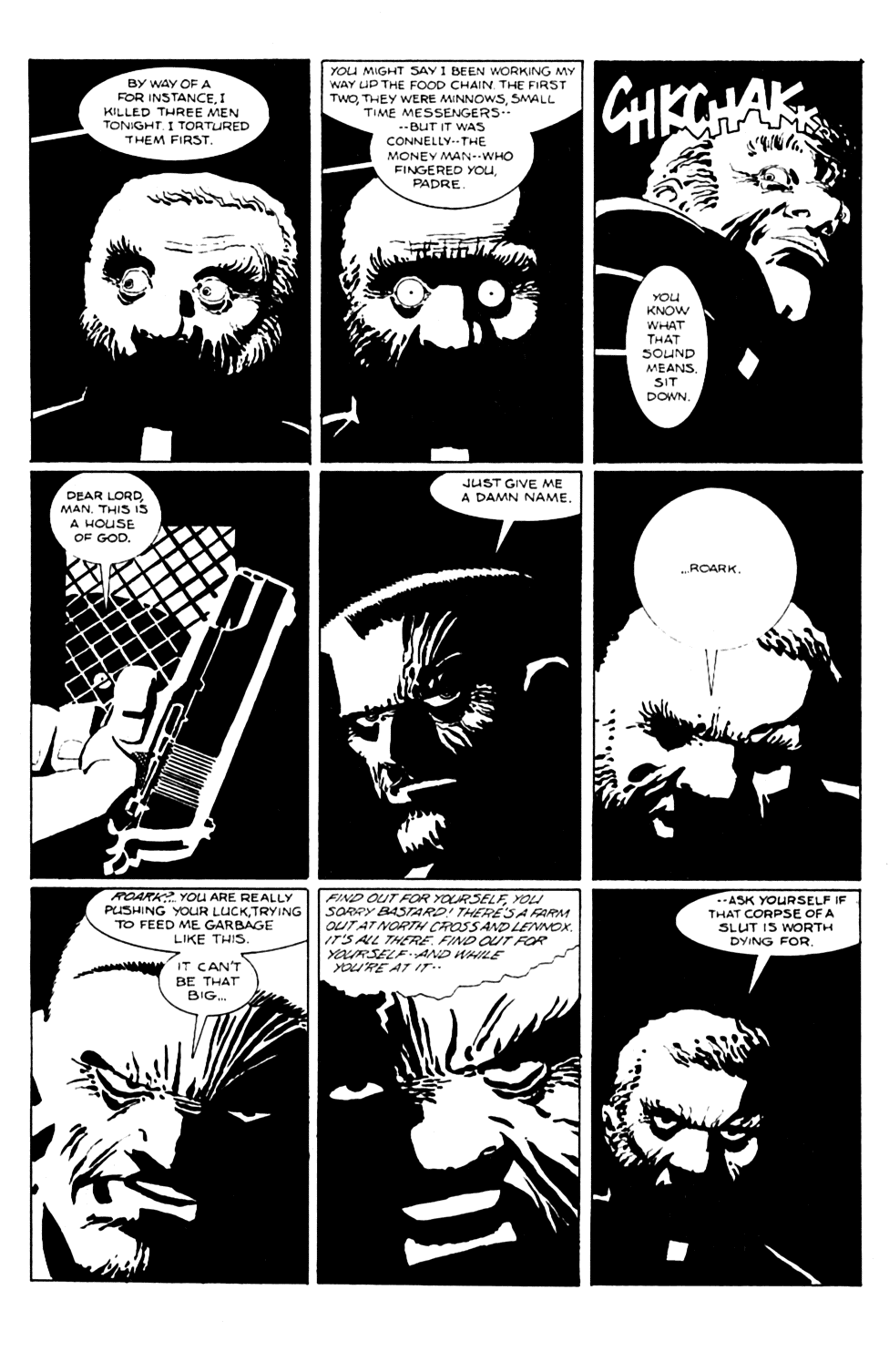 Read online Sin City comic -  Issue #6 - 7