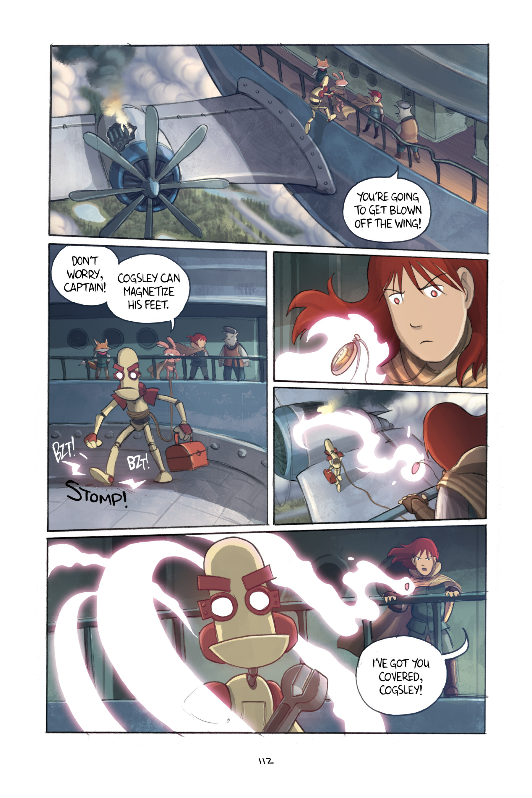 Read online Amulet comic -  Issue #3 - 110