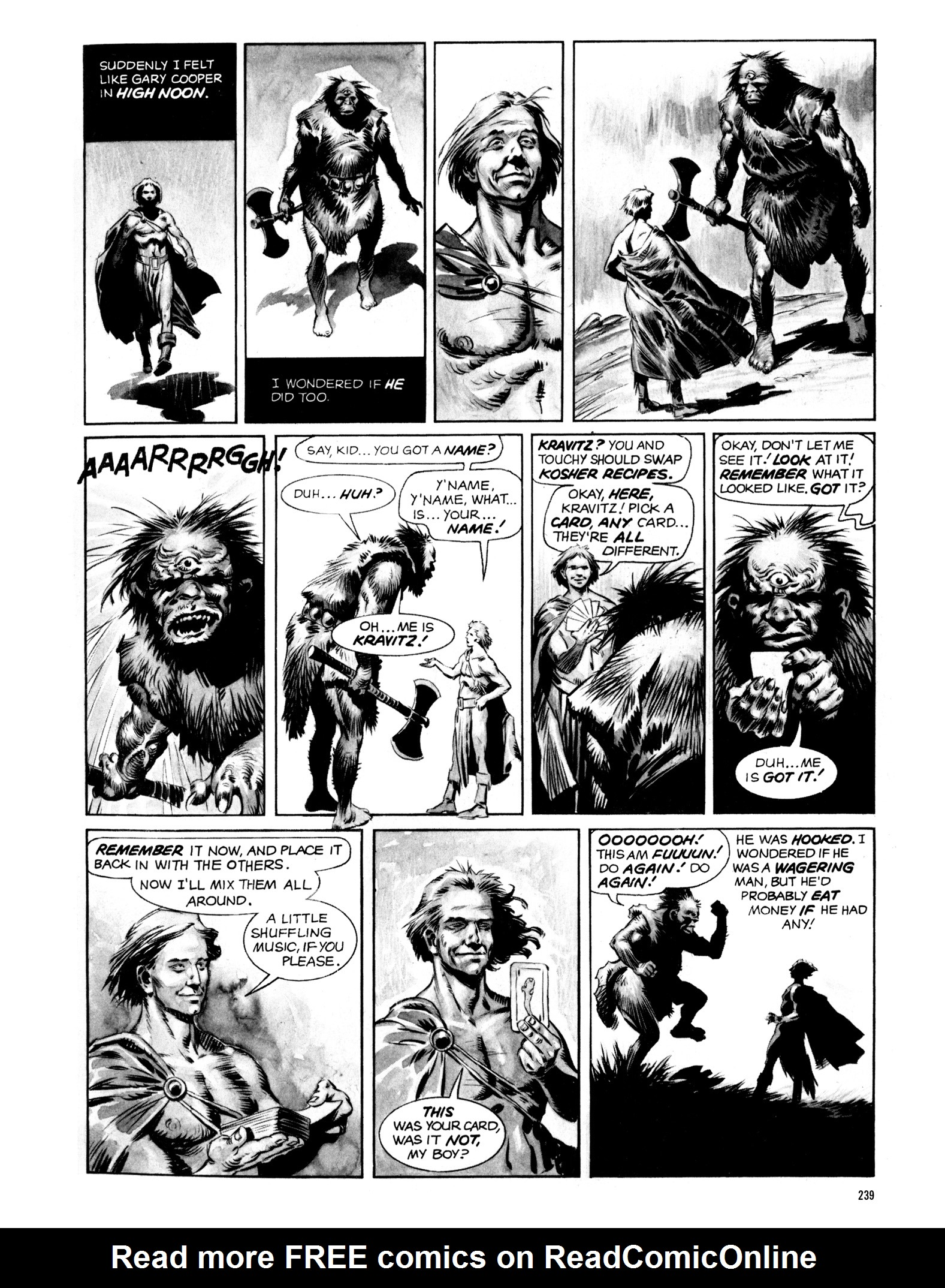 Read online Eerie Archives comic -  Issue # TPB 14 - 240