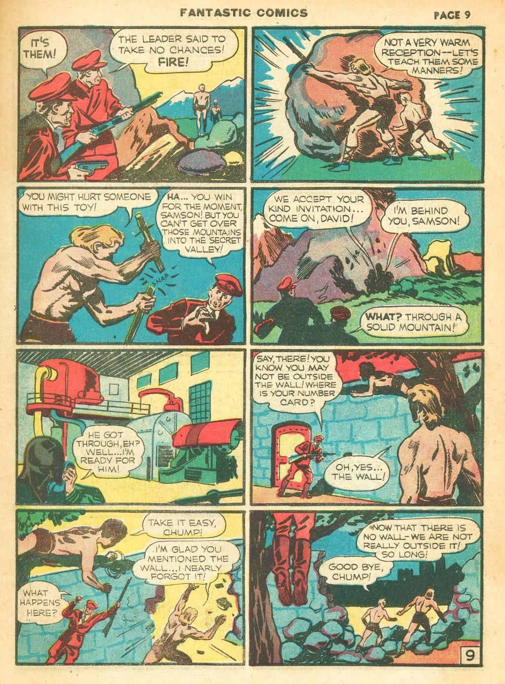 Read online Fantastic Comics comic -  Issue #12 - 11