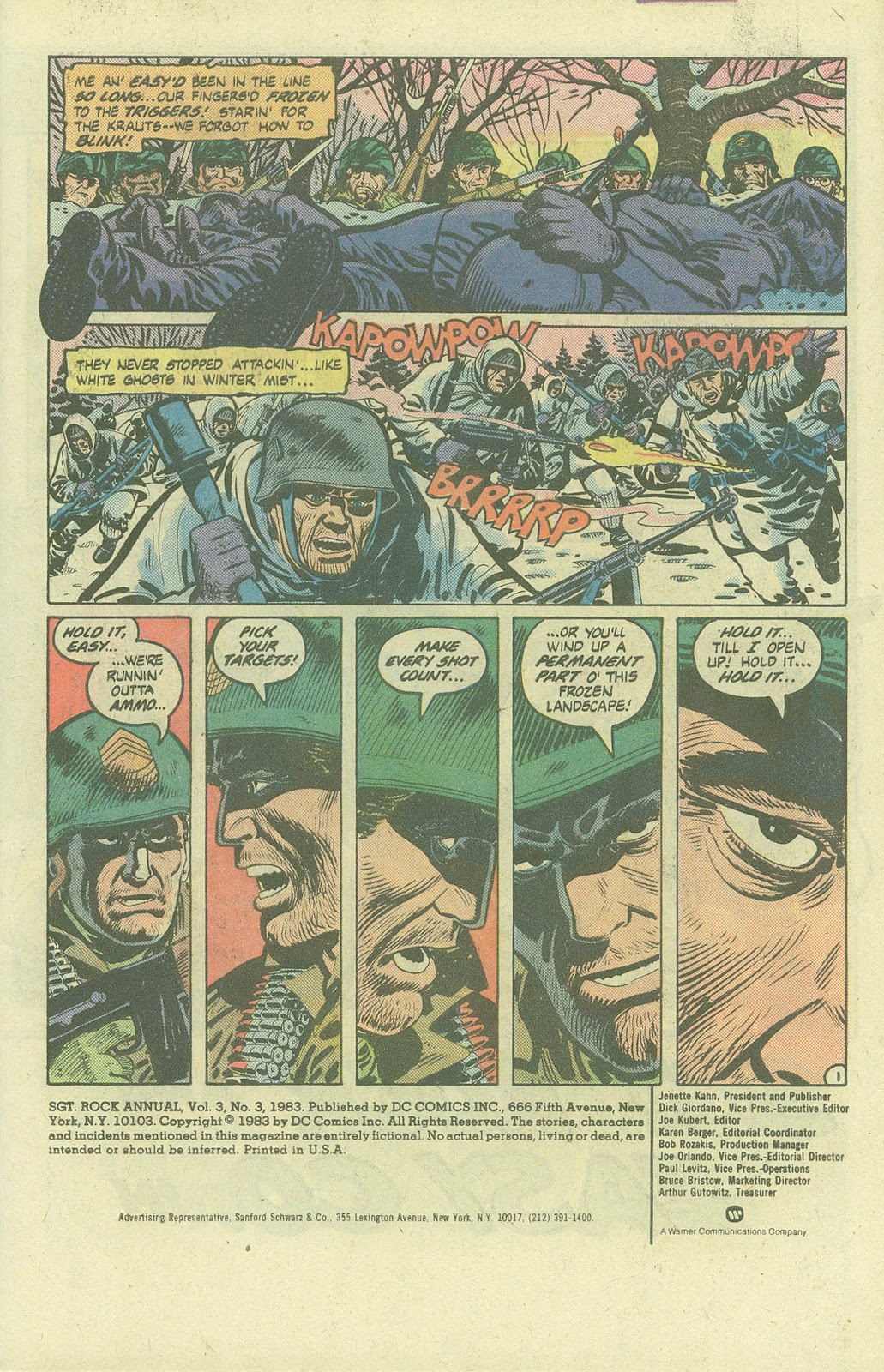 Sgt. Rock issue Annual 3 - Page 3