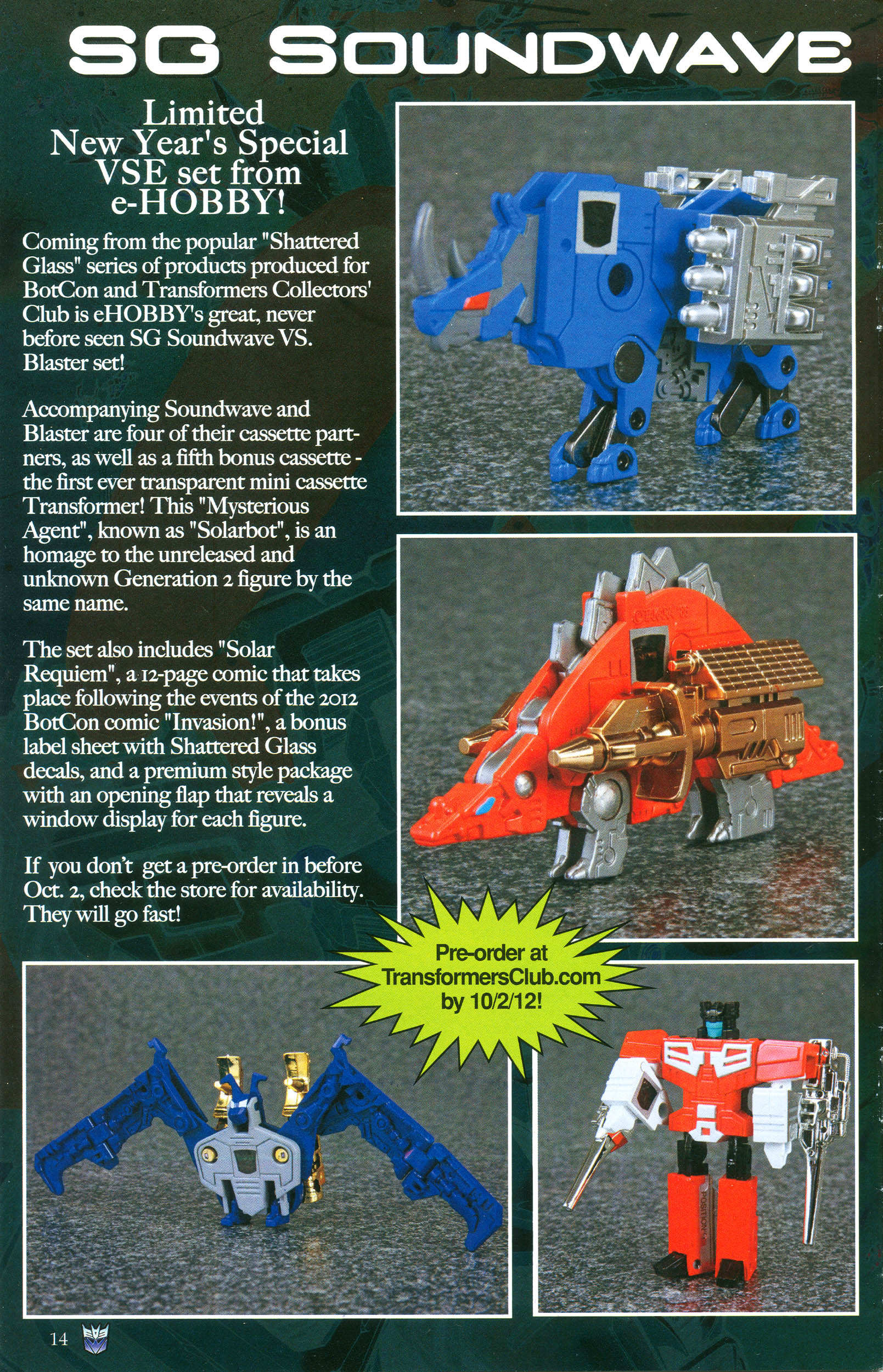 Read online Transformers: Collectors' Club comic -  Issue #47 - 14