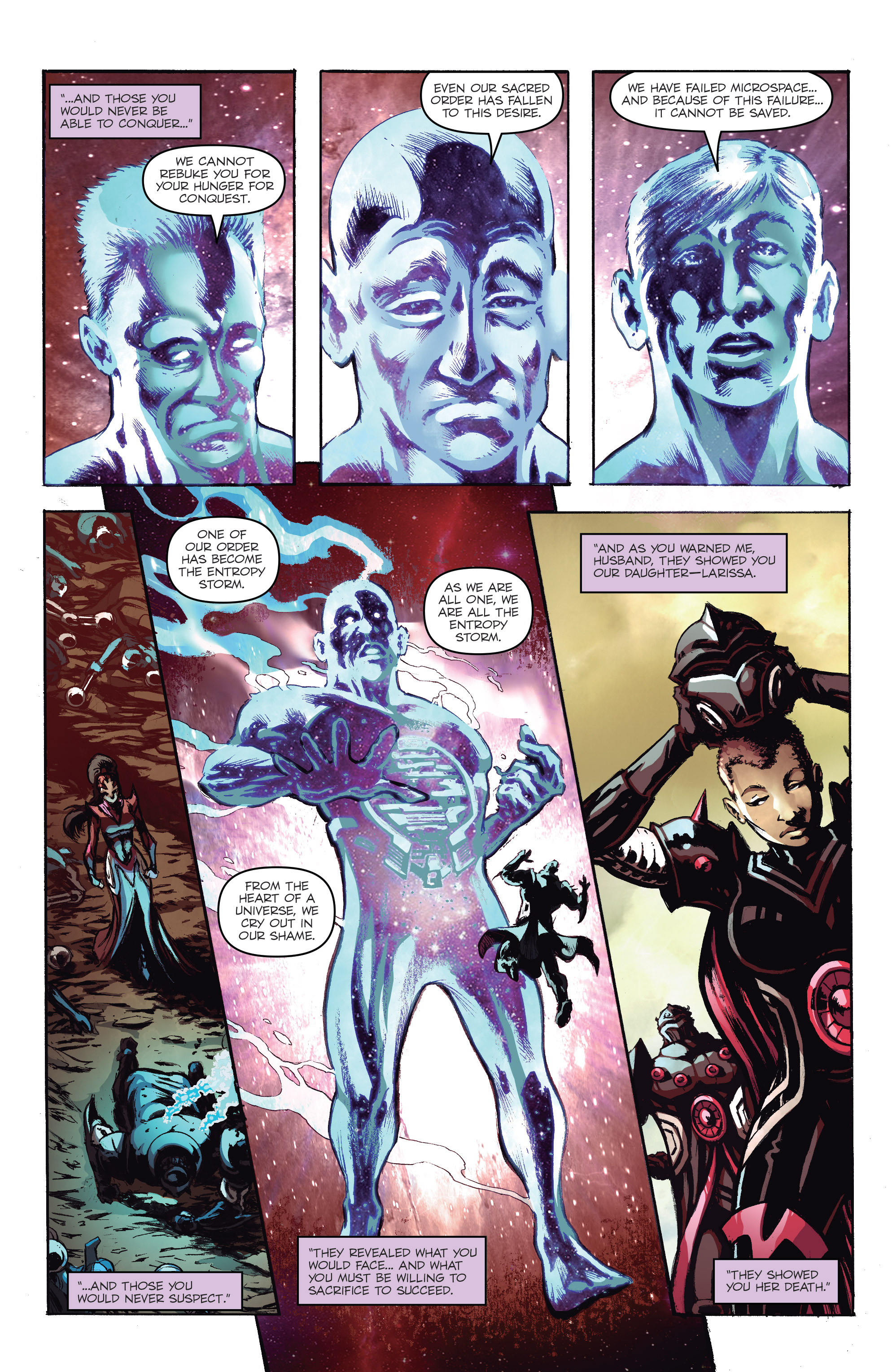 Read online Micronauts: Wrath of Karza comic -  Issue #2 - 19