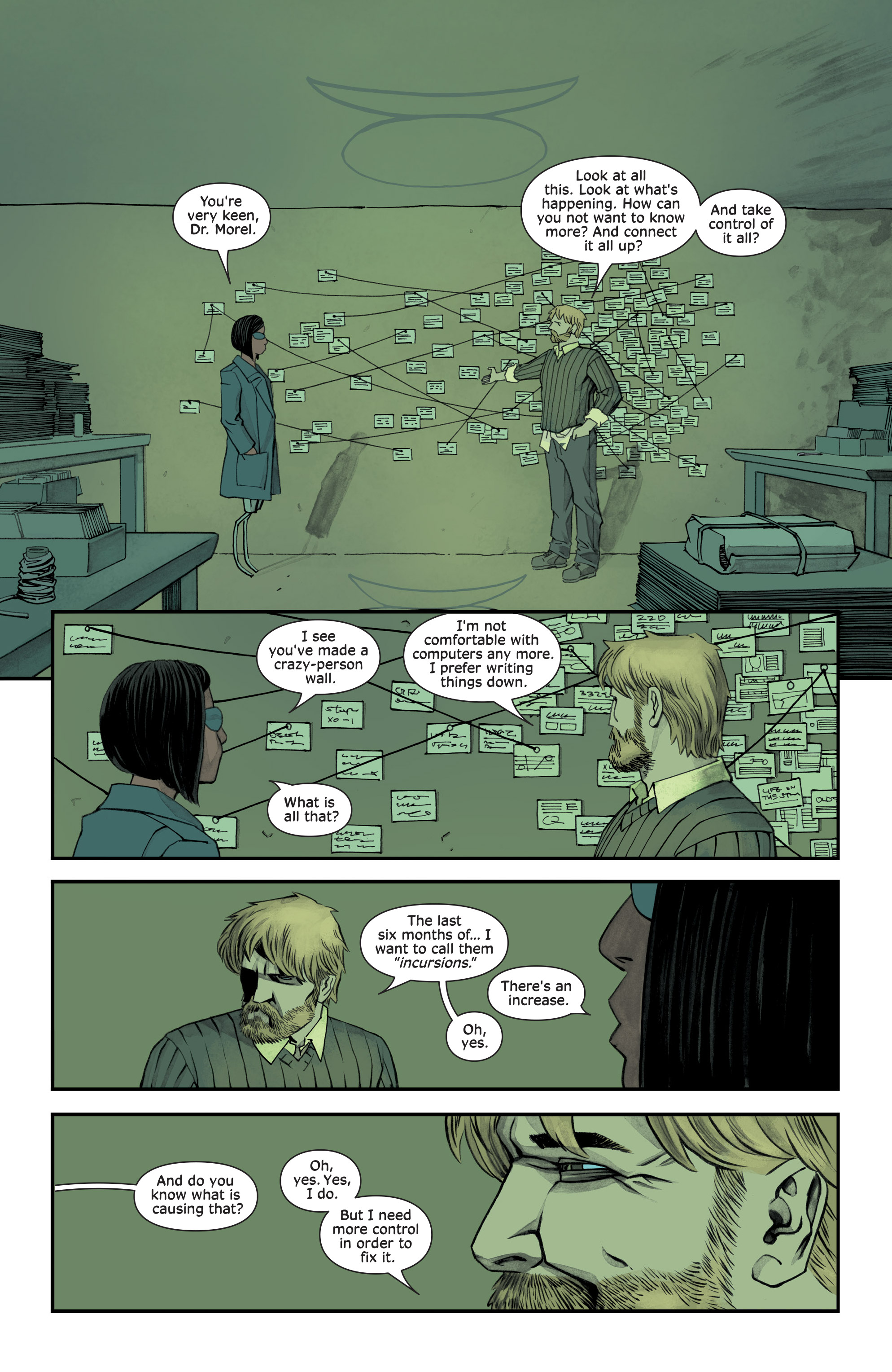 Read online Injection comic -  Issue #13 - 14