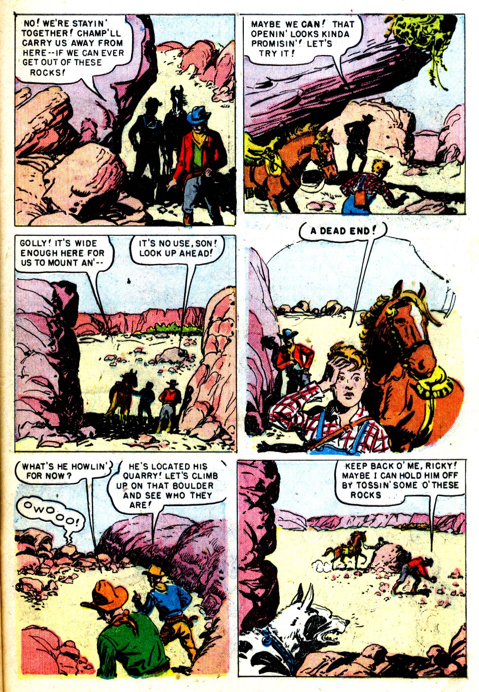 Four Color Comics issue 287 - Page 45