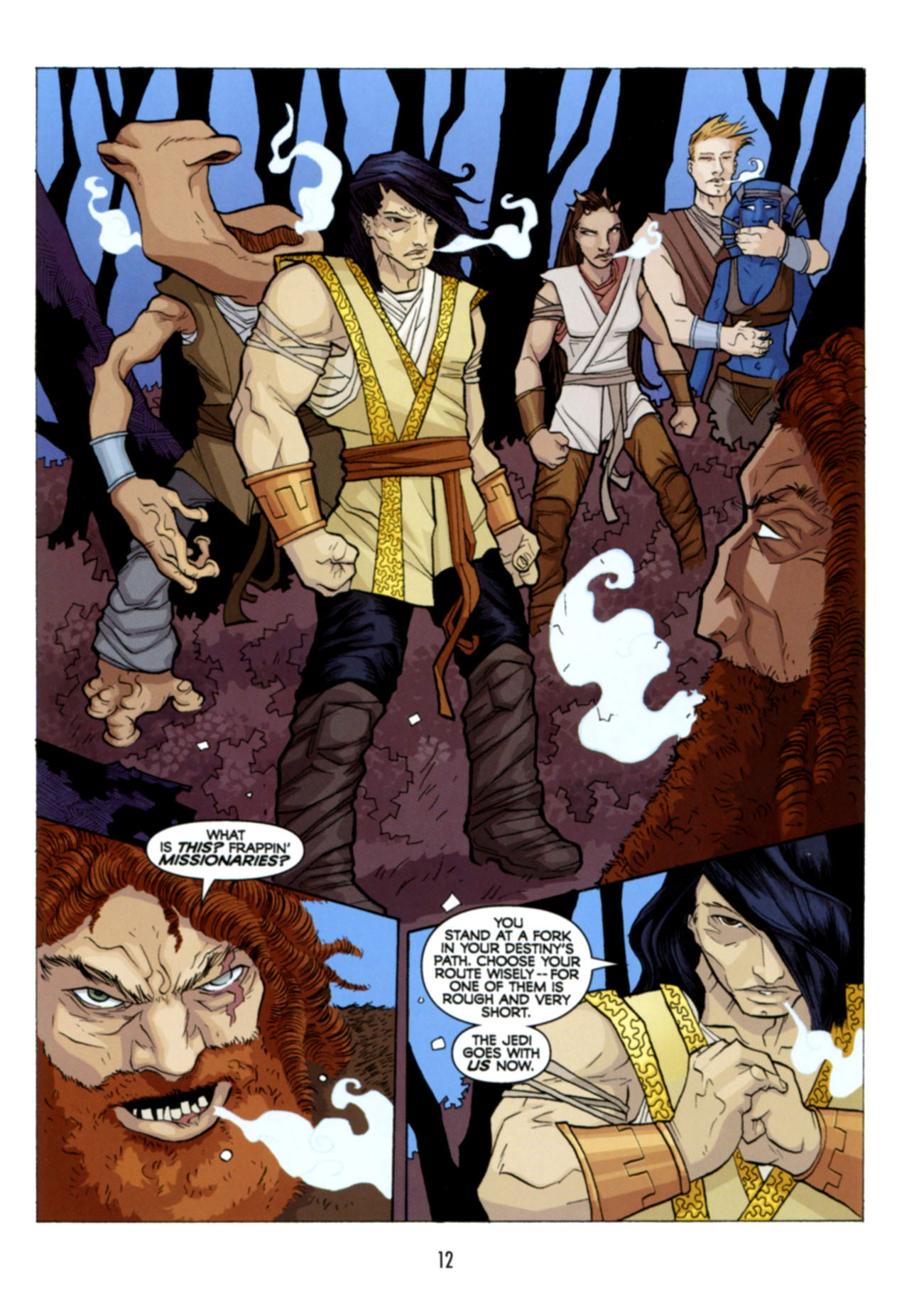 Read online Star Wars: The Clone Wars - Deadly Hands of Shon-Ju comic -  Issue # Full - 13
