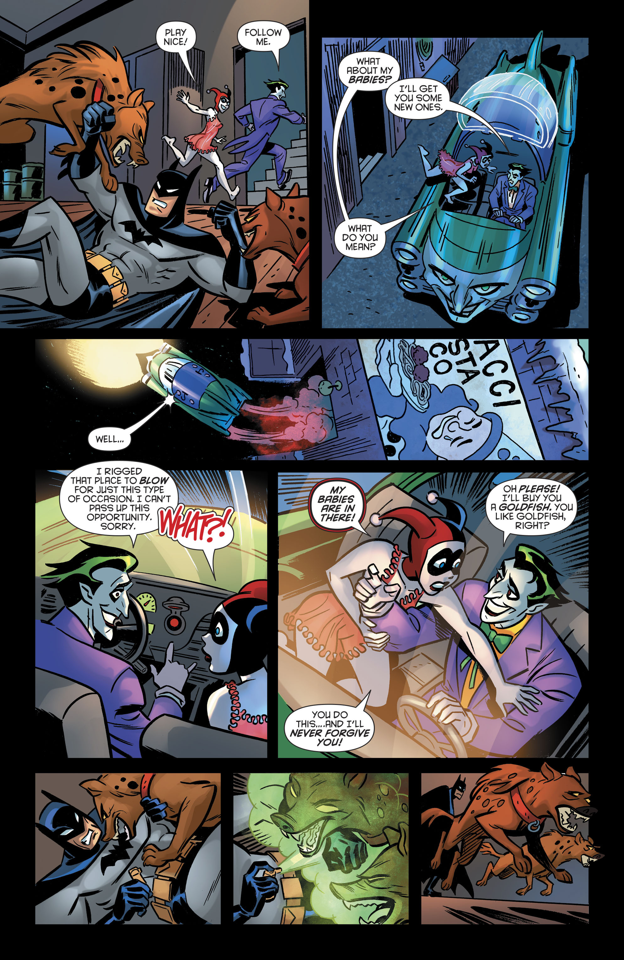 Read online Harley Quinn (2016) comic -  Issue #19 - 22