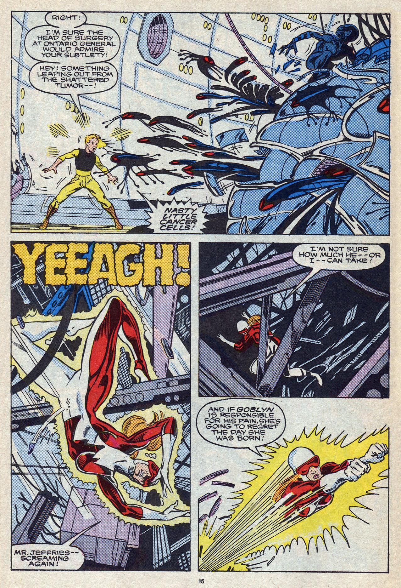 Read online Alpha Flight (1983) comic -  Issue #56 - 22